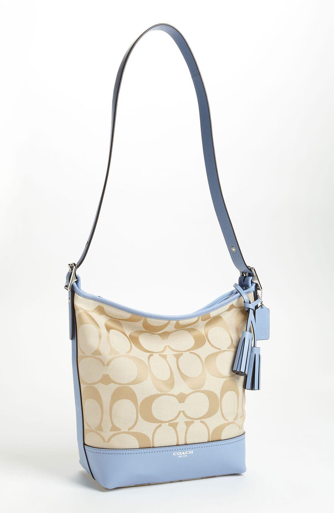 Alternate Image 1 Selected - COACH 'Legacy Duffel - Signature' Shoulder Bag