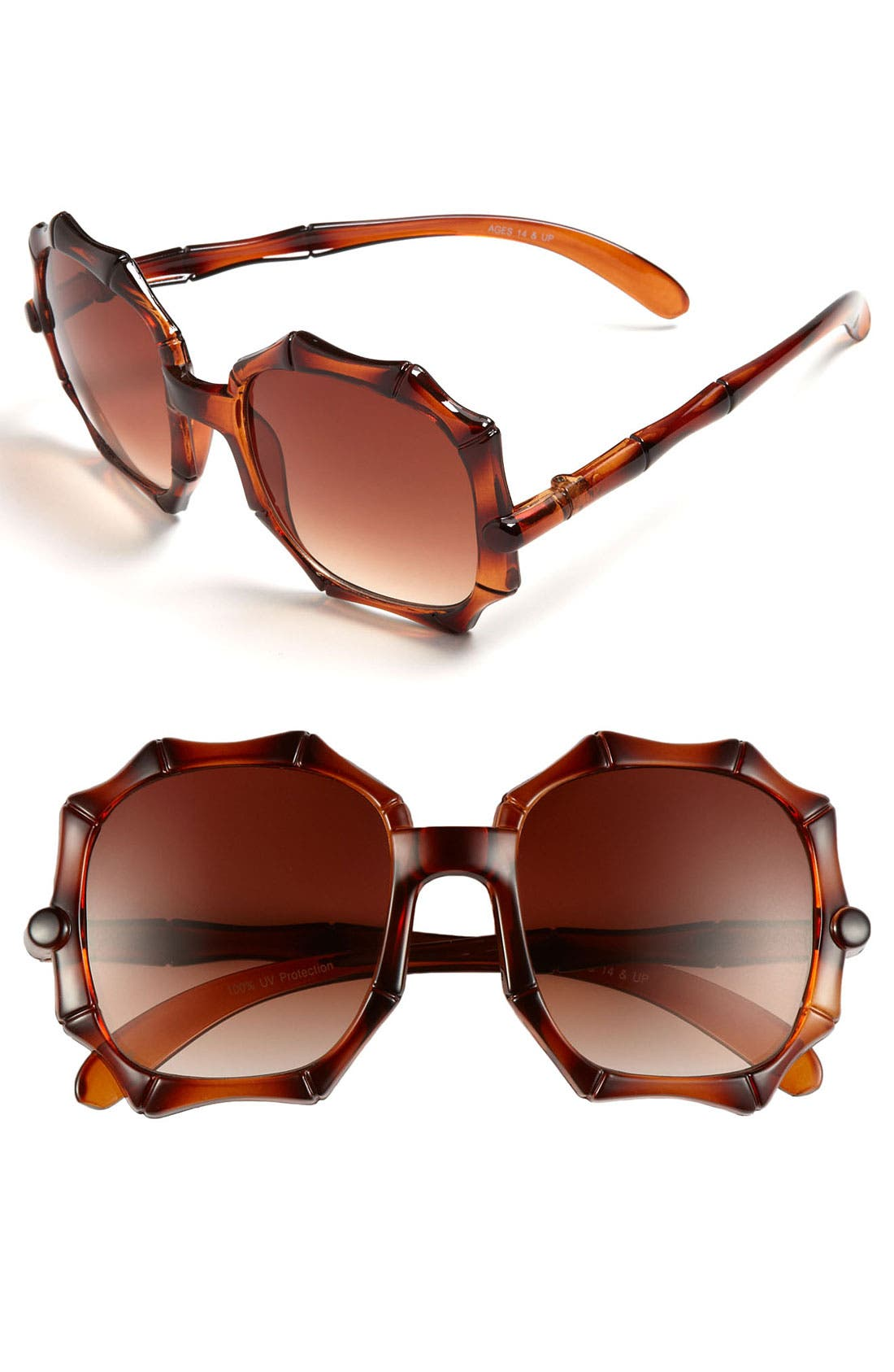 Alternate Image 1 Selected - FE NY 'Bamboozle' Sunglasses