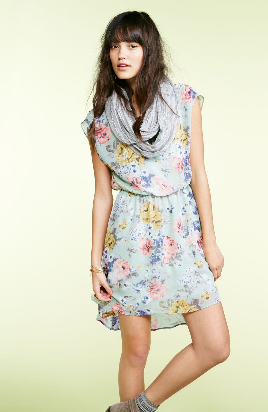 Alternate Image 3  - Lush 'Dakota' Chiffon Dress (Juniors)