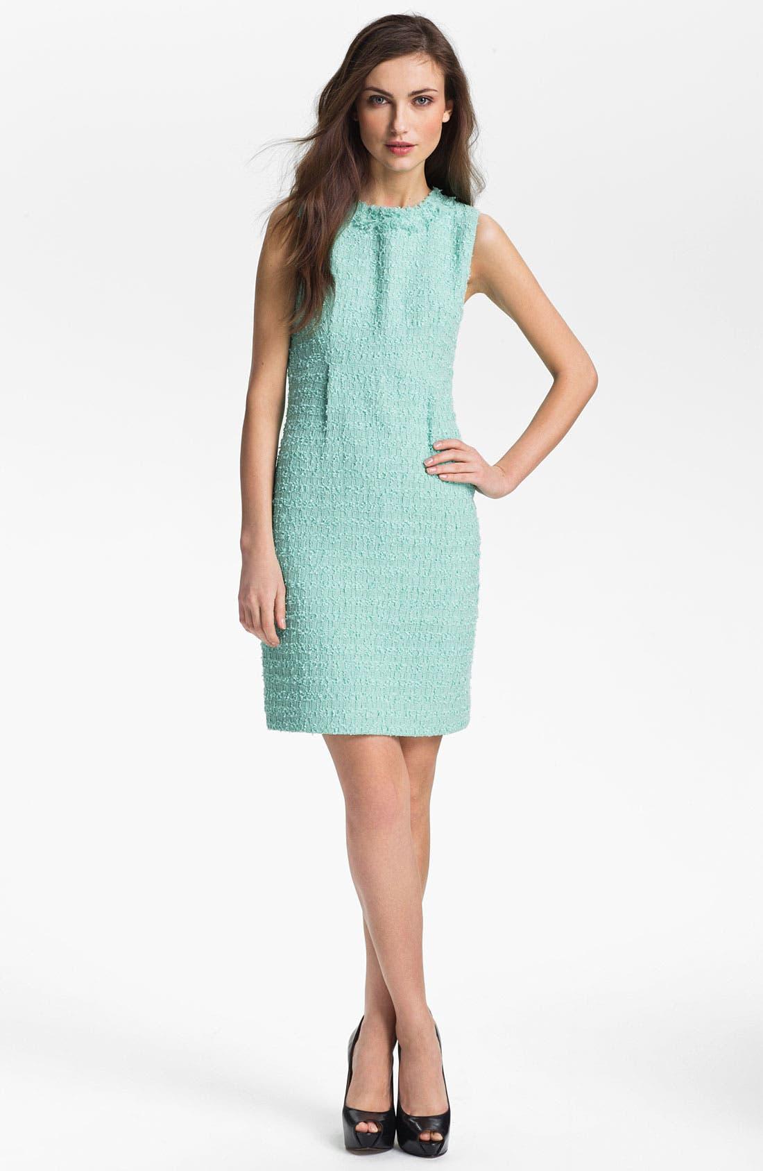 Alternate Image 1 Selected - kate spade new york 'terri' tweed sheath dress