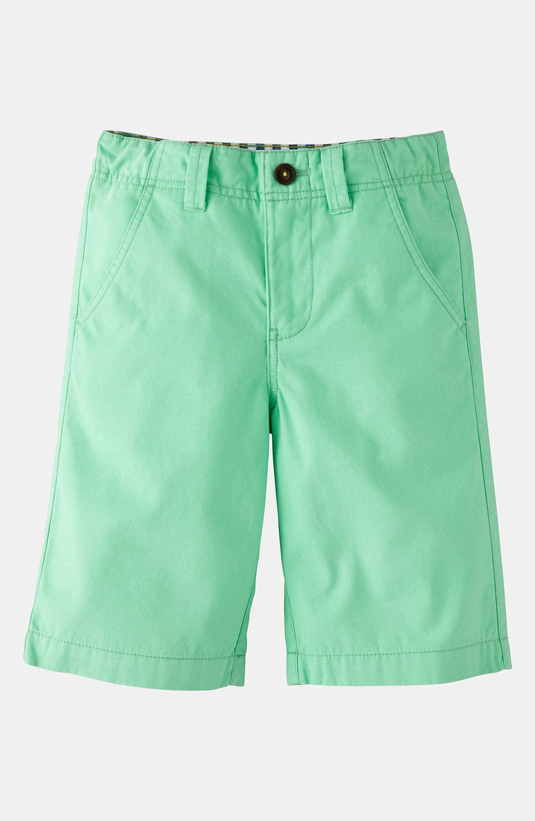 Alternate Image 1 Selected - Mini Boden 'Deck' Shorts (Toddler, Little Boys & Big Boys)