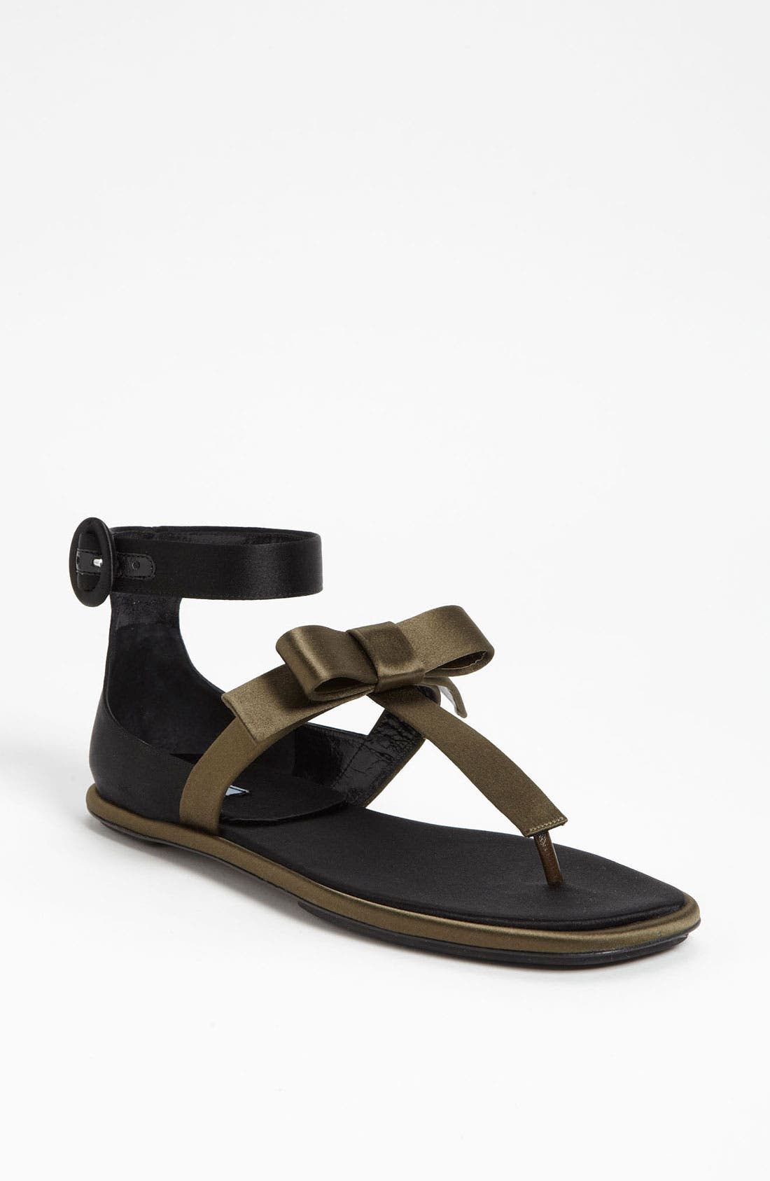 Alternate Image 1 Selected - Prada T-Strap Sandal