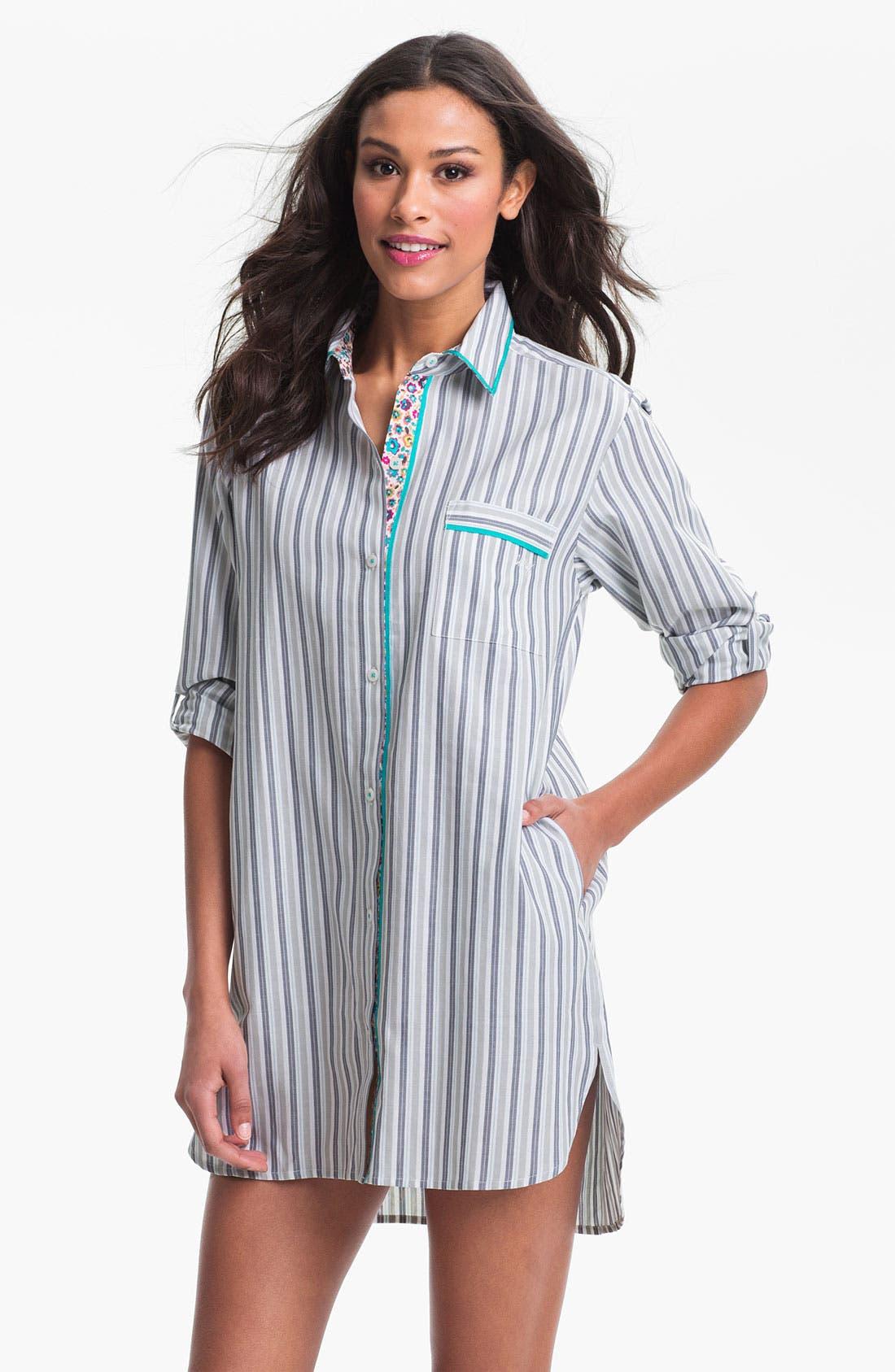 Main Image - DKNY 'Sugar Rush' Woven Nightshirt