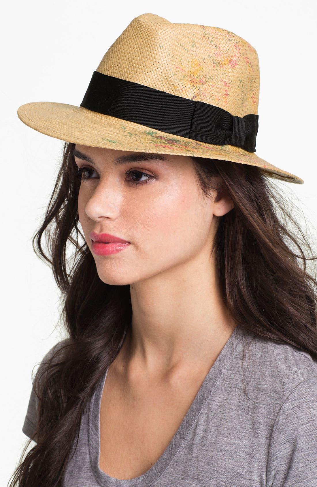 Alternate Image 1 Selected - San Diego Hat 'Paint Splatter' Fedora