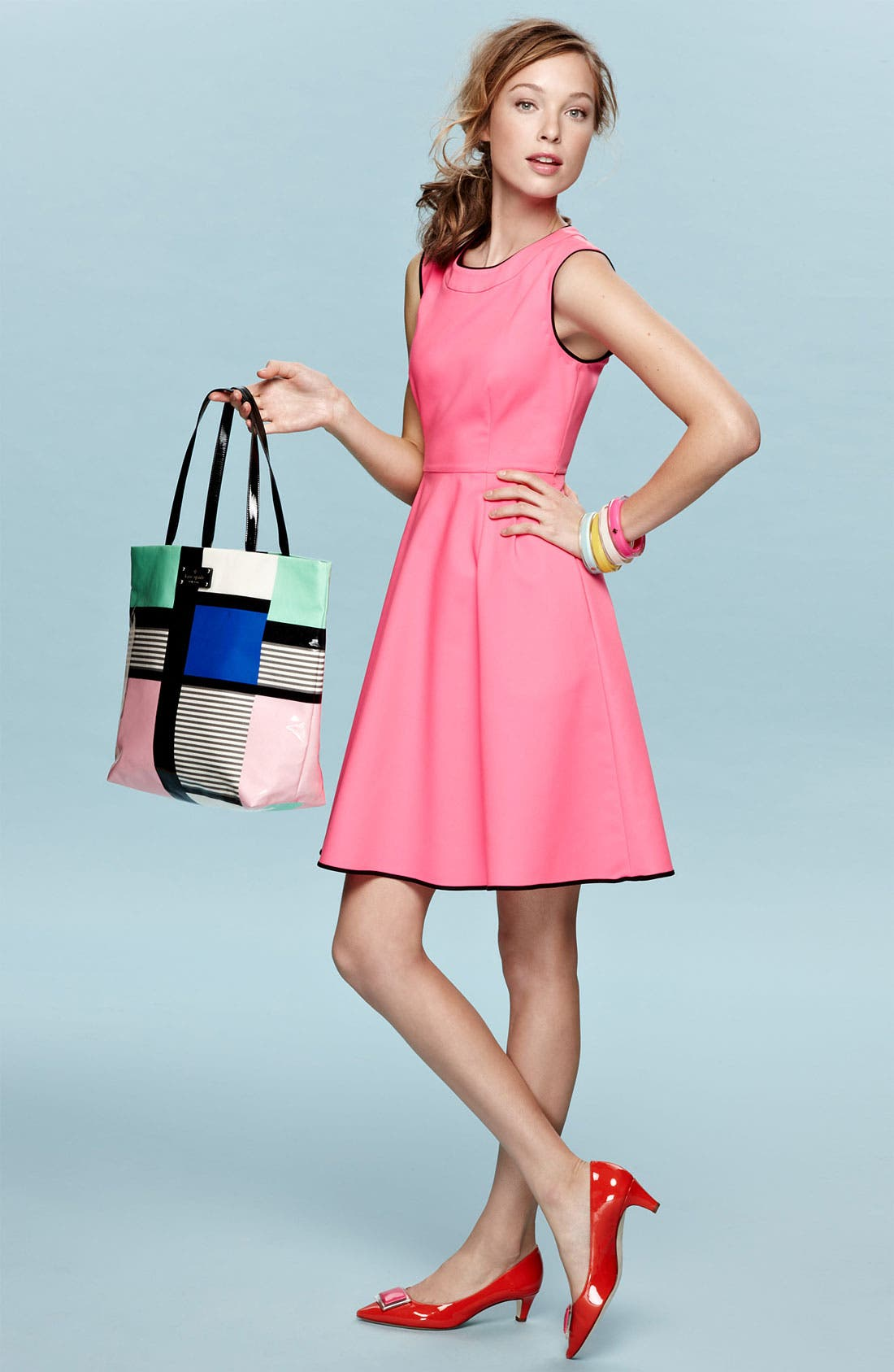 Alternate Image 4  - kate spade new york 'carol' fit & flare dress