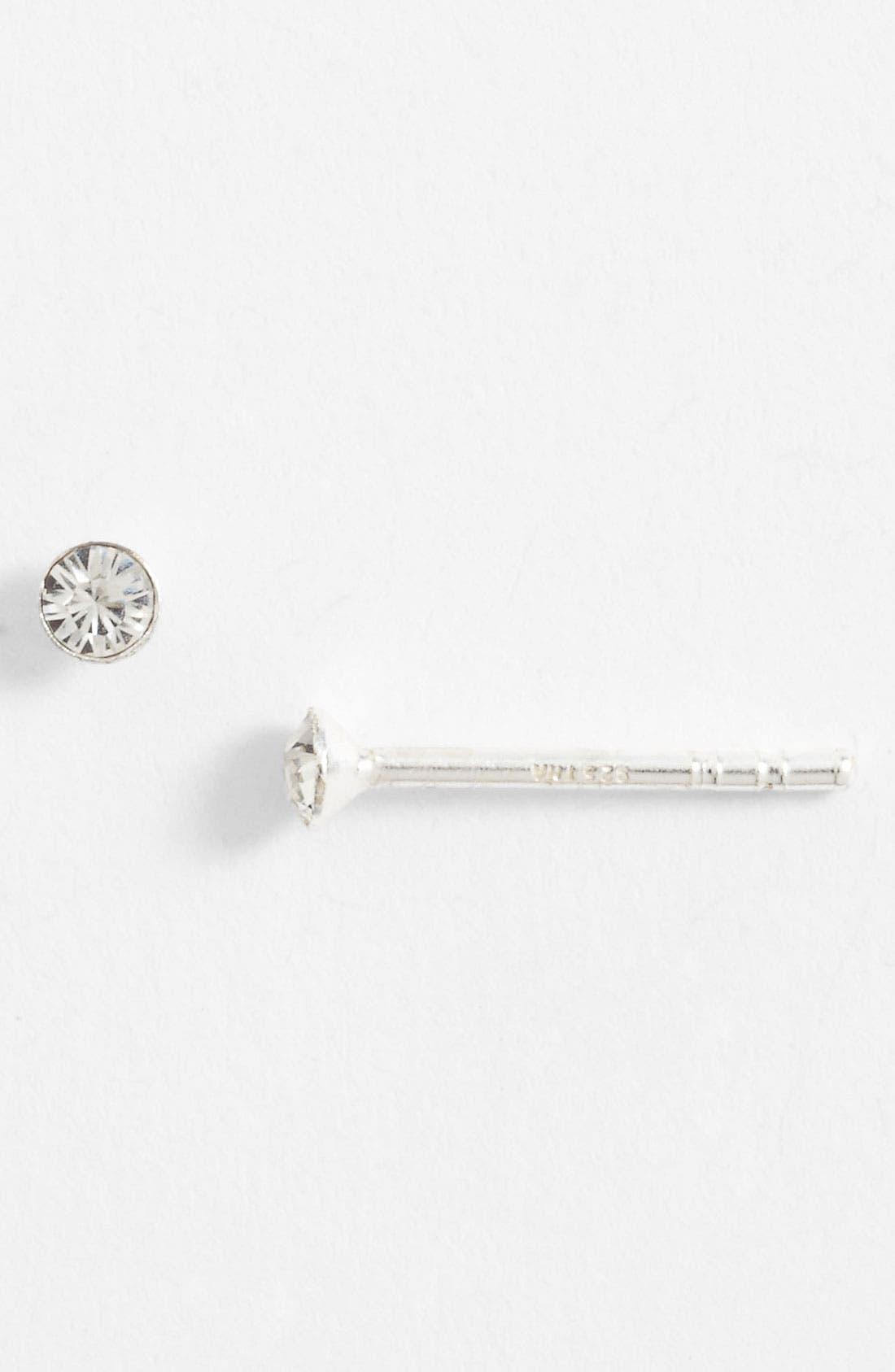 Alternate Image 1 Selected - Tomas Sterling Silver & Rhinestone Stud Earrings