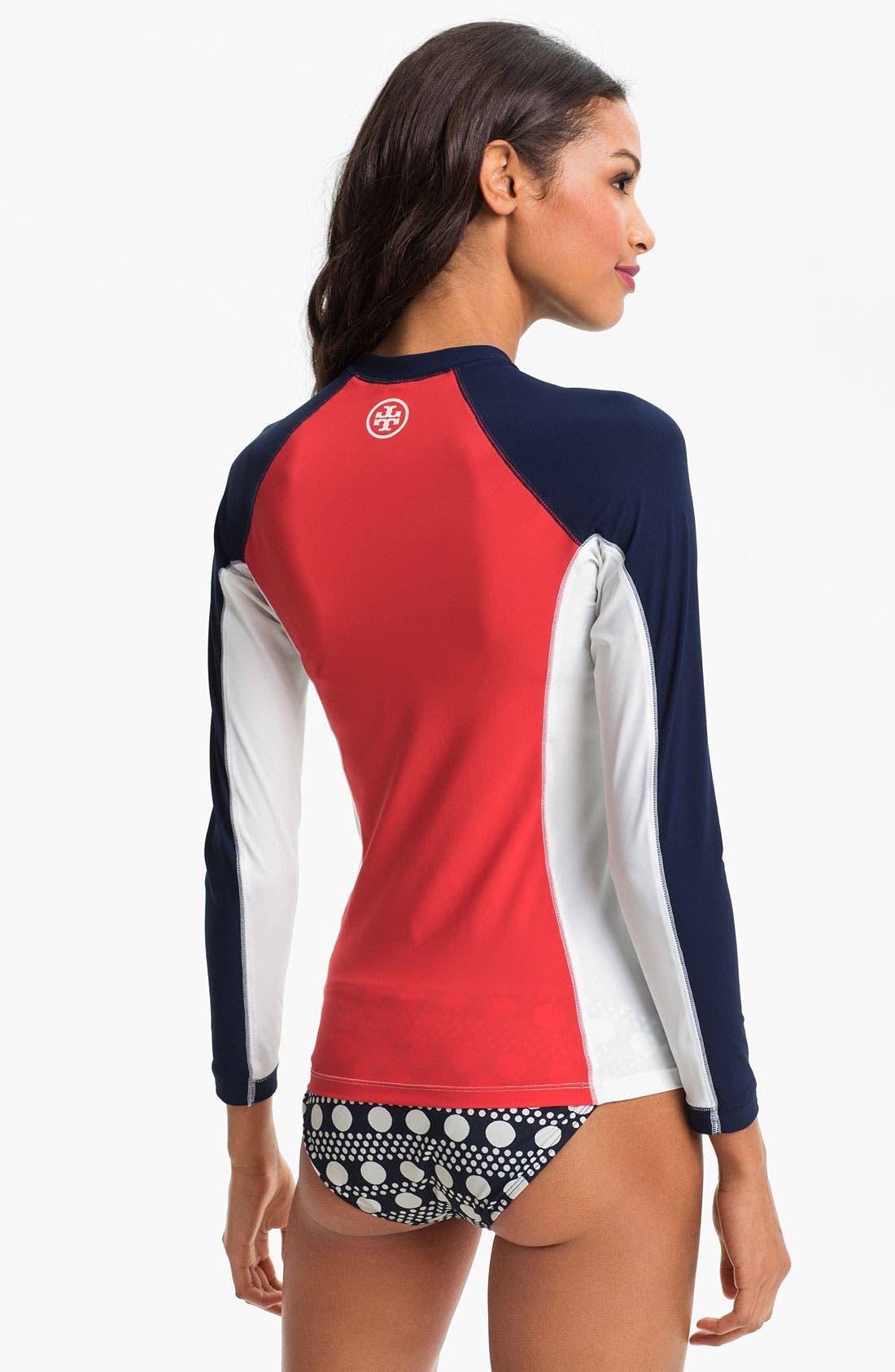 Alternate Image 2  - Tory Burch 'Paloma' Surf Shirt