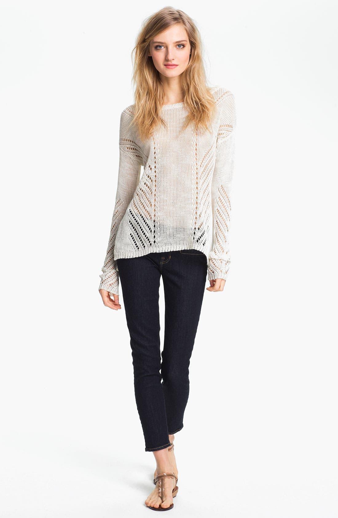 Alternate Image 4  - TEXTILE Elizabeth and James 'Tucker' Skinny Jeans