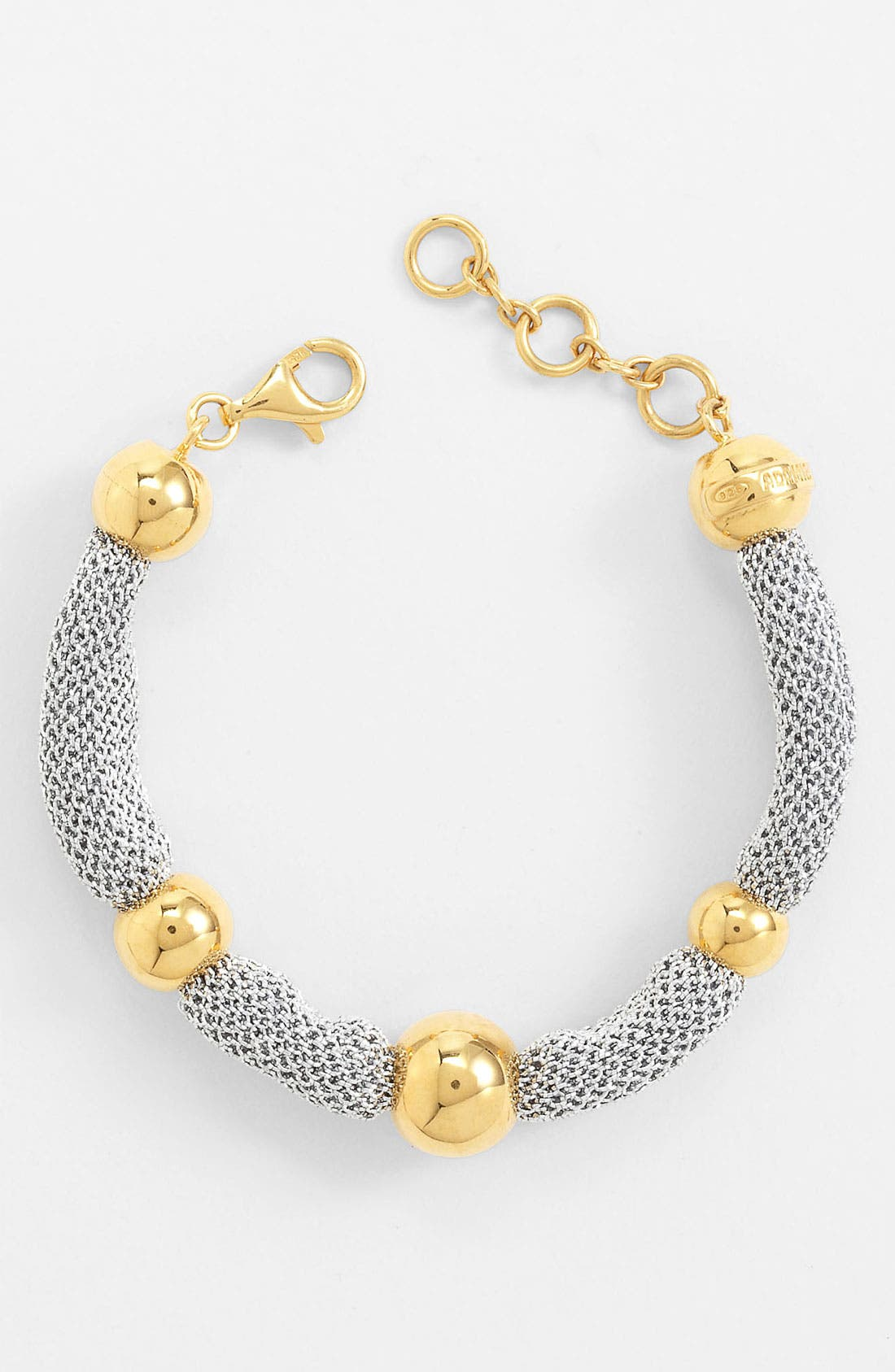 Alternate Image 1 Selected - Adami & Martucci 'Mesh' Station Bracelet (Nordstrom Exclusive)