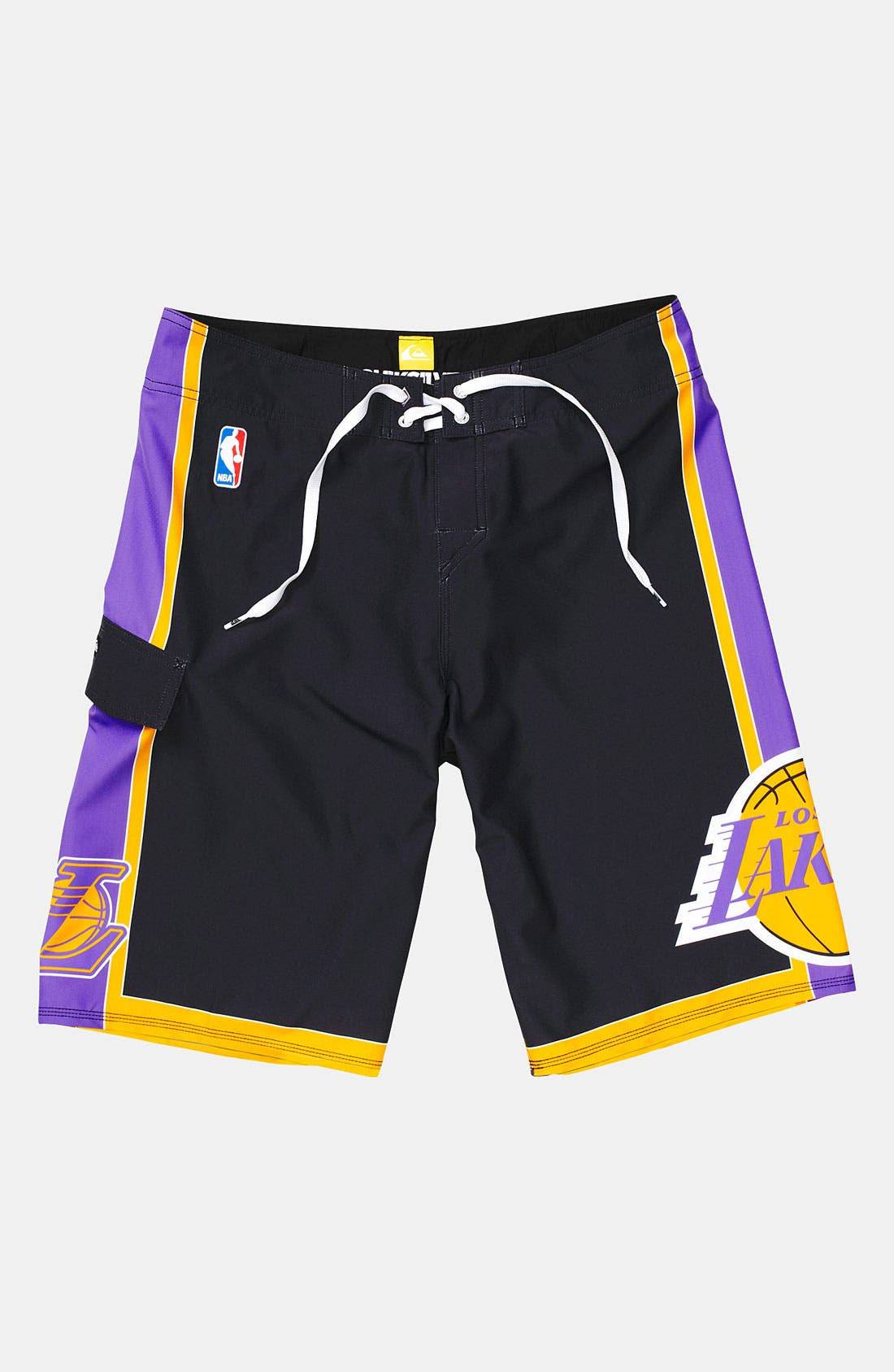Alternate Image 1 Selected - Quiksilver 'Lakers' Board Shorts (Big Boys)