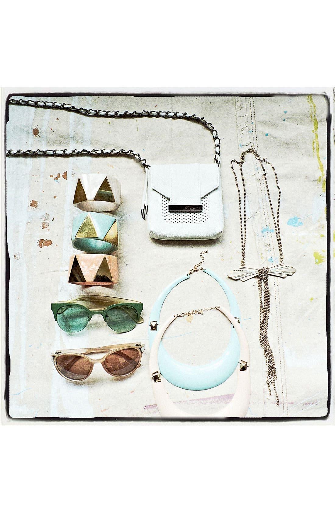 Alternate Image 2  - FE NY 'High Life' Sunglasses
