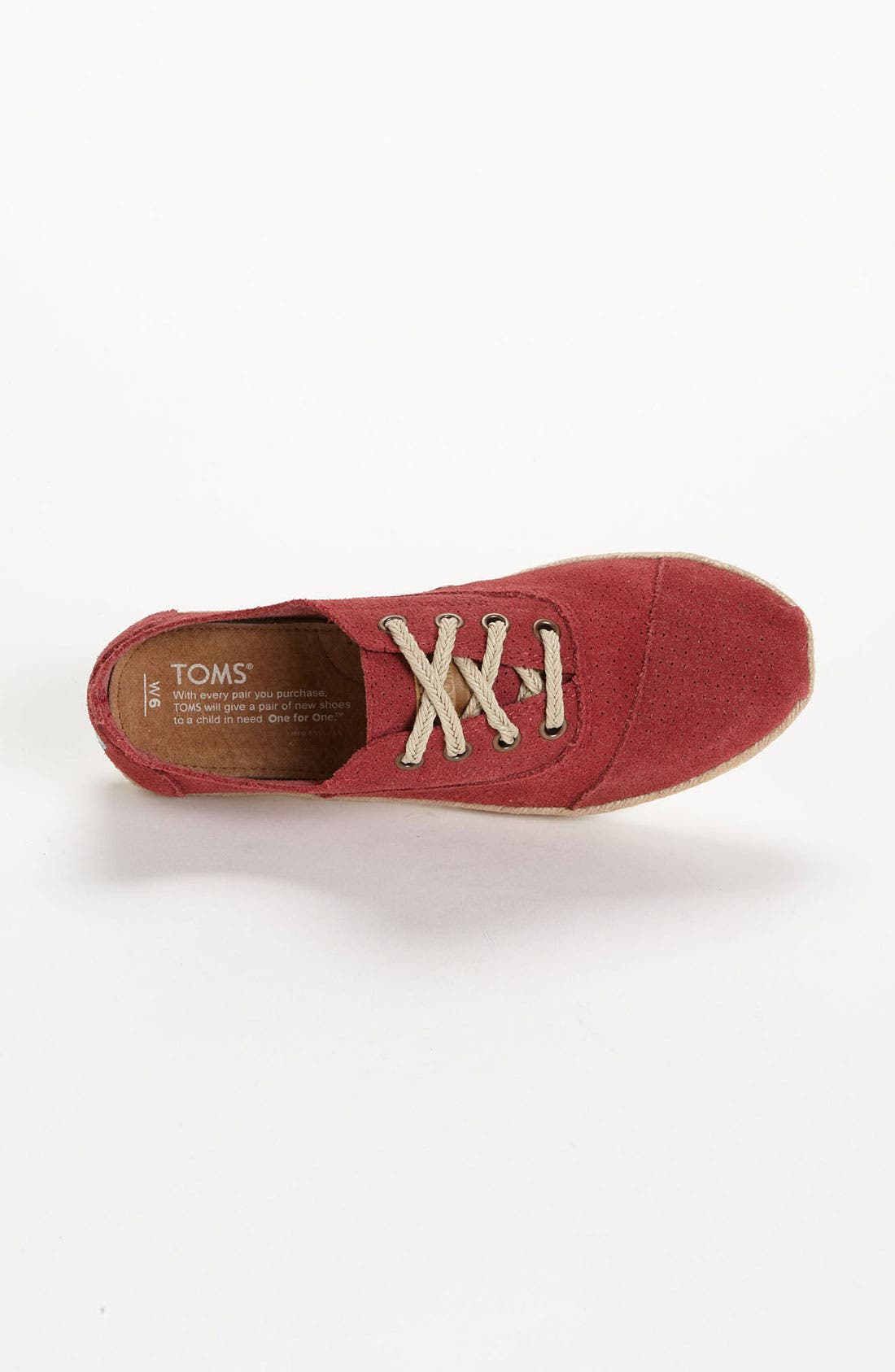 Alternate Image 4  - TOMS 'Cordones' Slip-On (Women)