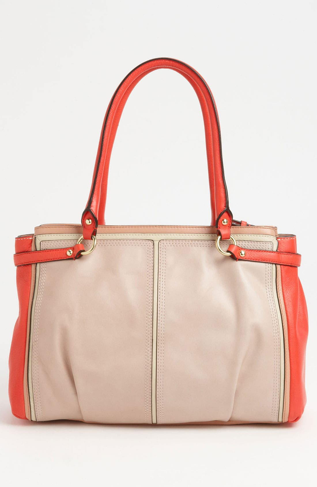 Alternate Image 4  - COACH 'Madison - Kara' Colorblock Satchel