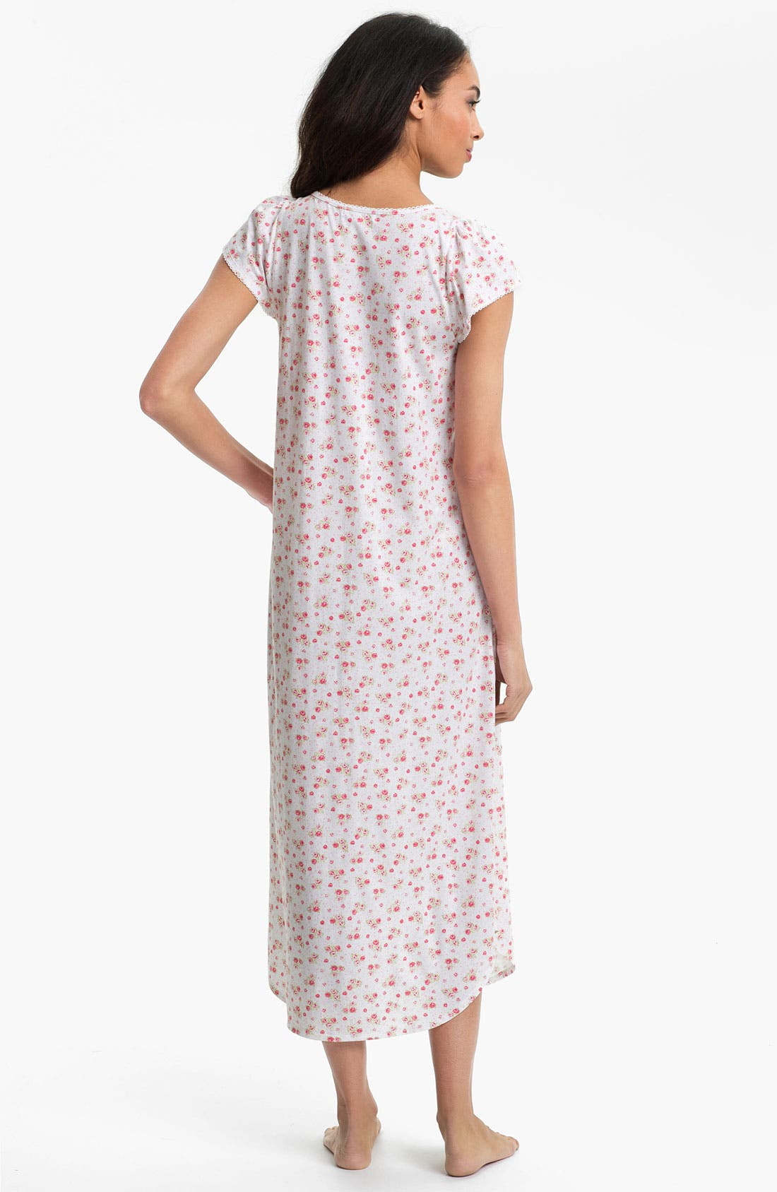 Alternate Image 2  - Carole Hochman Designs 'Rose Cottage' Nightgown