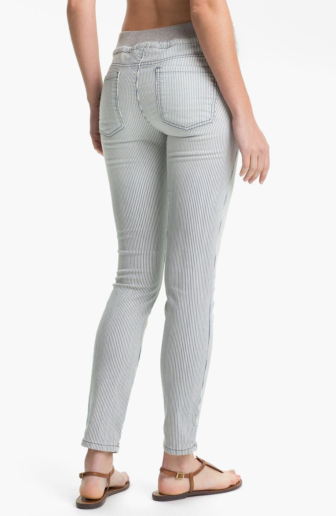 Alternate Image 2  - Splendid 'Pacific' Stripe Tapered Pants
