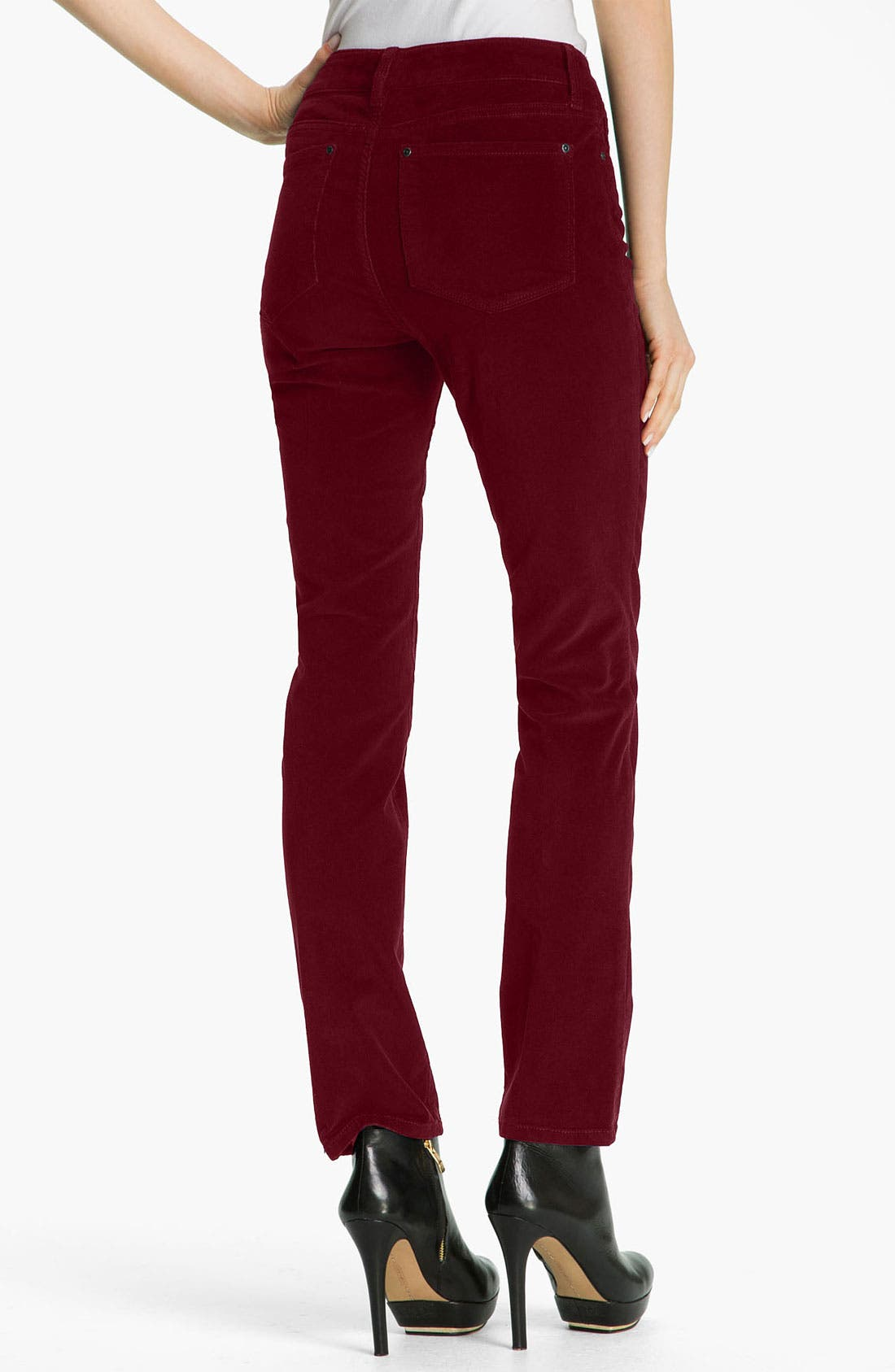 Alternate Image 2  - NYDJ Skinny Corduroy Jeans (Petite)