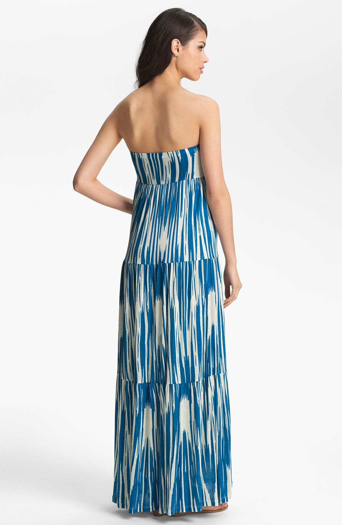 Alternate Image 2  - Velvet by Graham & Spencer 'Atlantis' Tiered Strapless Maxi Dress