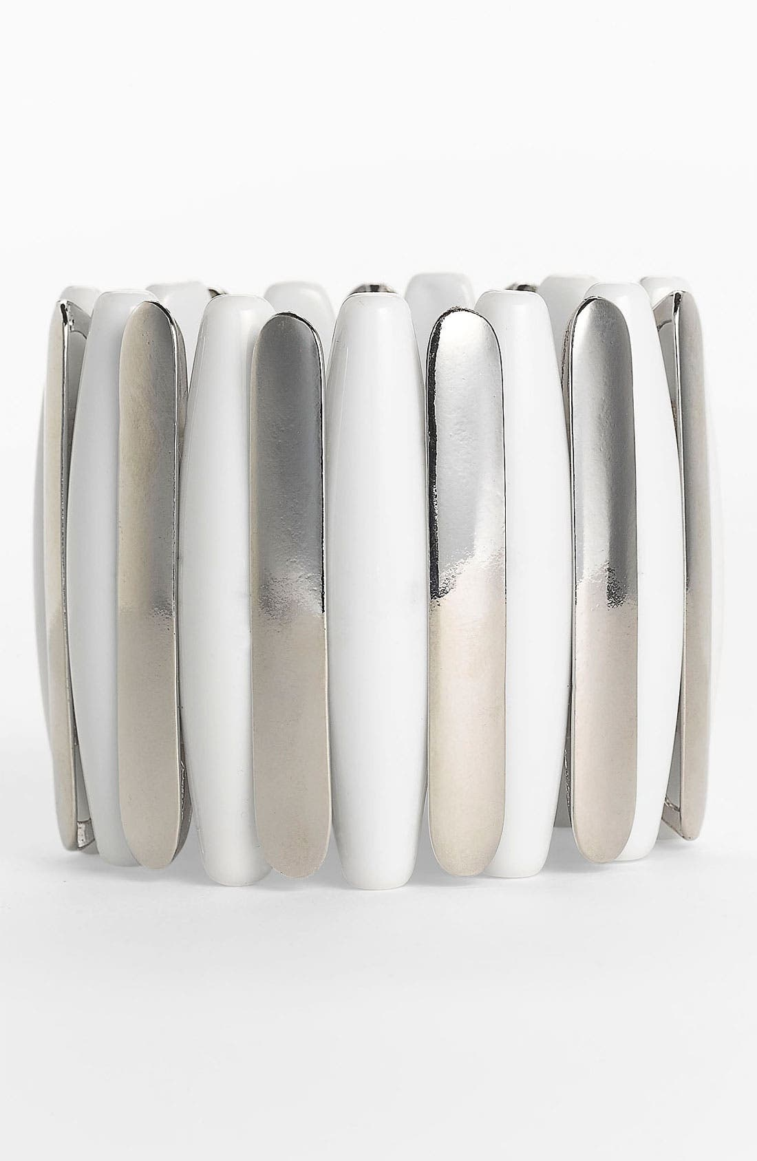 Alternate Image 1 Selected - Natasha Couture Stretch Panel Cuff