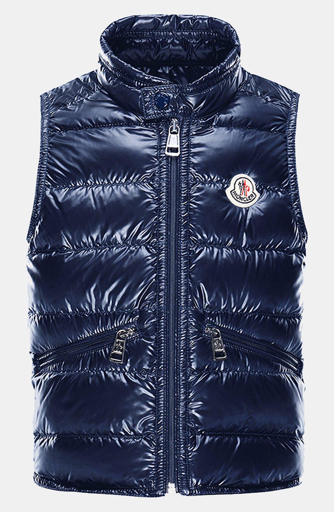 Main Image - Moncler Down Vest (Little Boys & Big Boys)