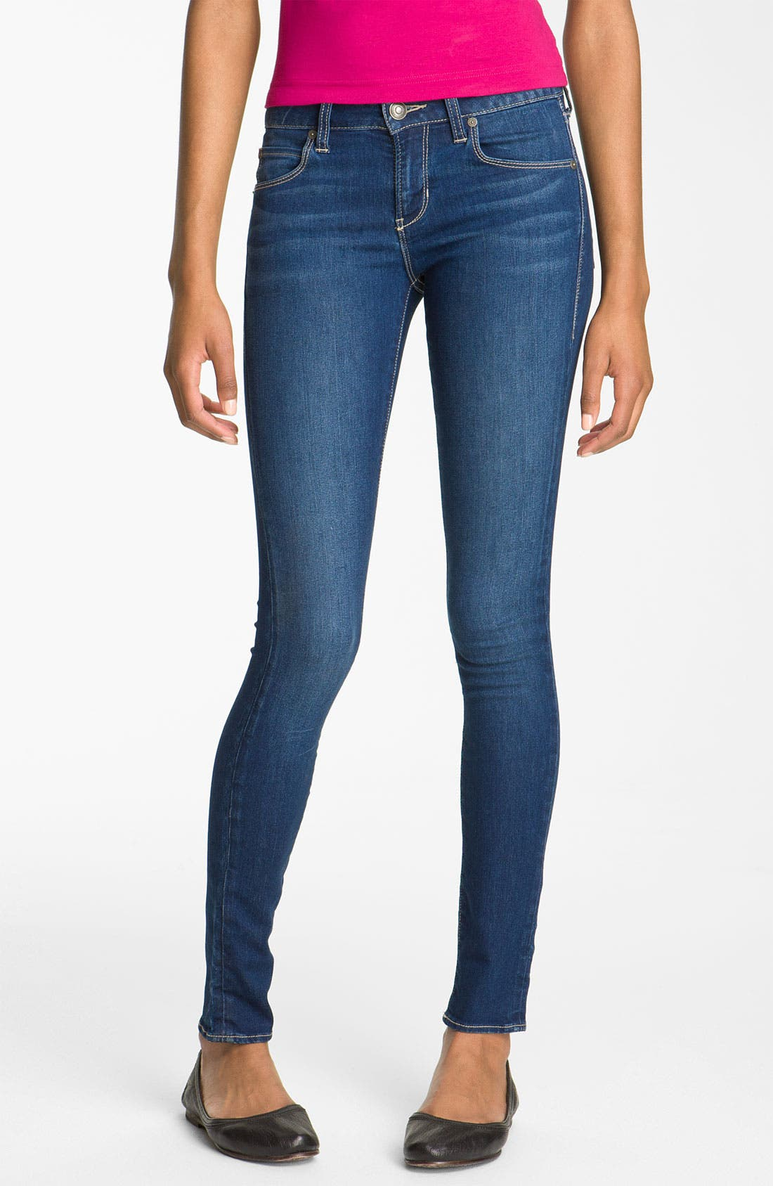 Alternate Image 2  - Articles of Society 'Mya' Skinny Jeans (Juniors)