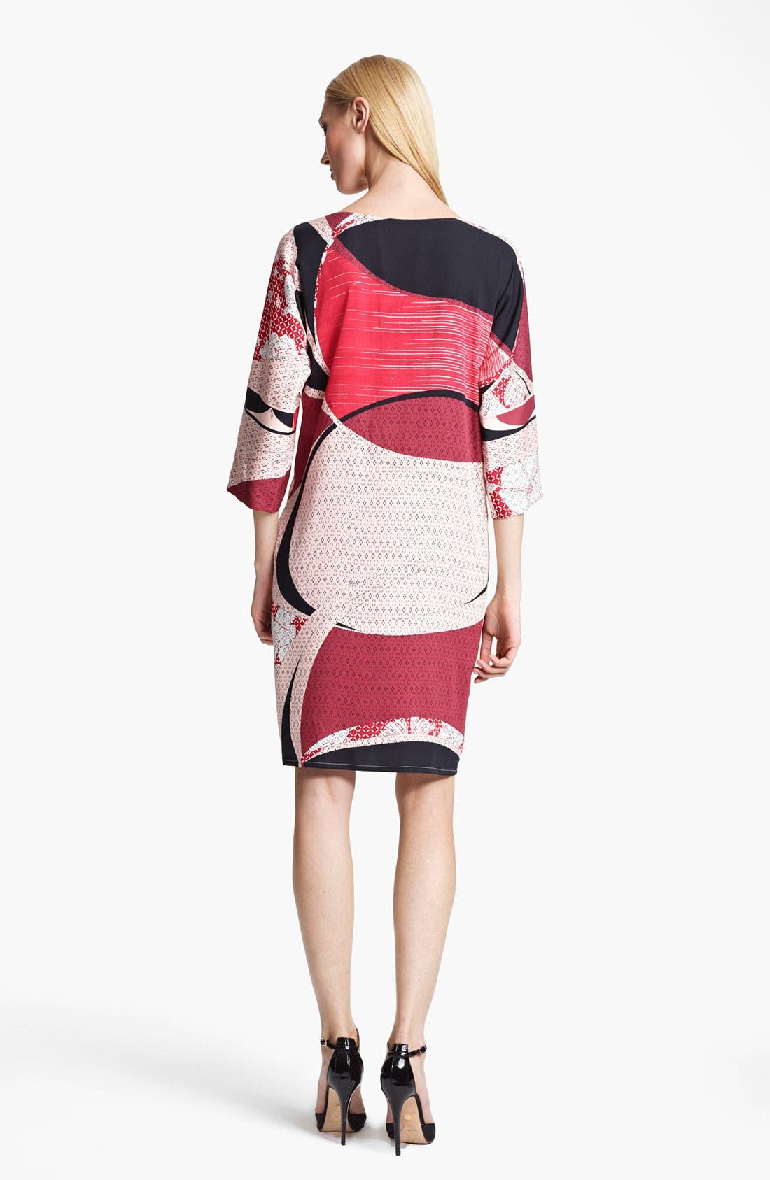 Alternate Image 2  - Emilio Pucci Elisse Print Stretch Silk Dress