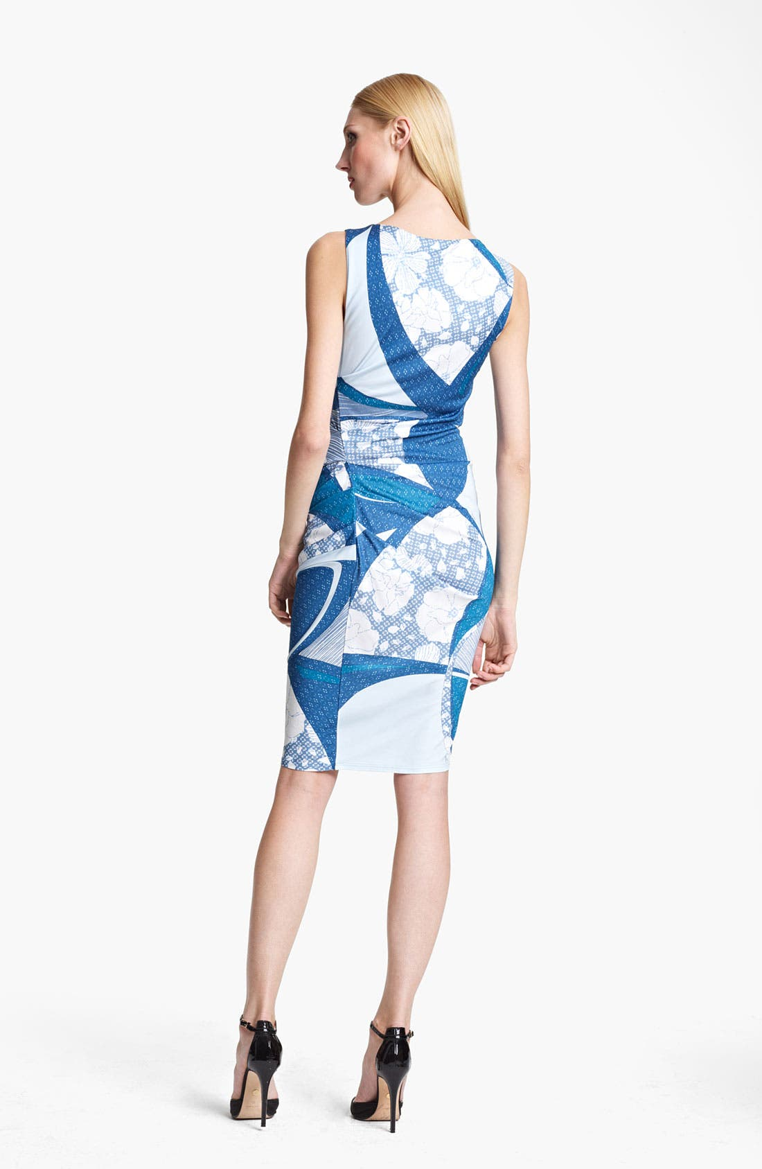 Alternate Image 2  - Emilio Pucci Elisse Print Ruched Jersey Dress