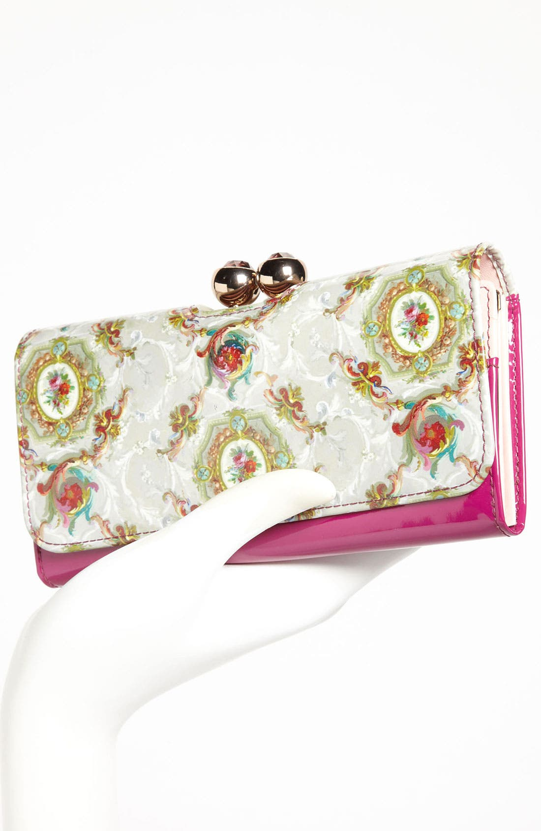 Alternate Image 2  - Ted Baker London 'Baroque Deco Crystal Bobble' Matinee Wallet