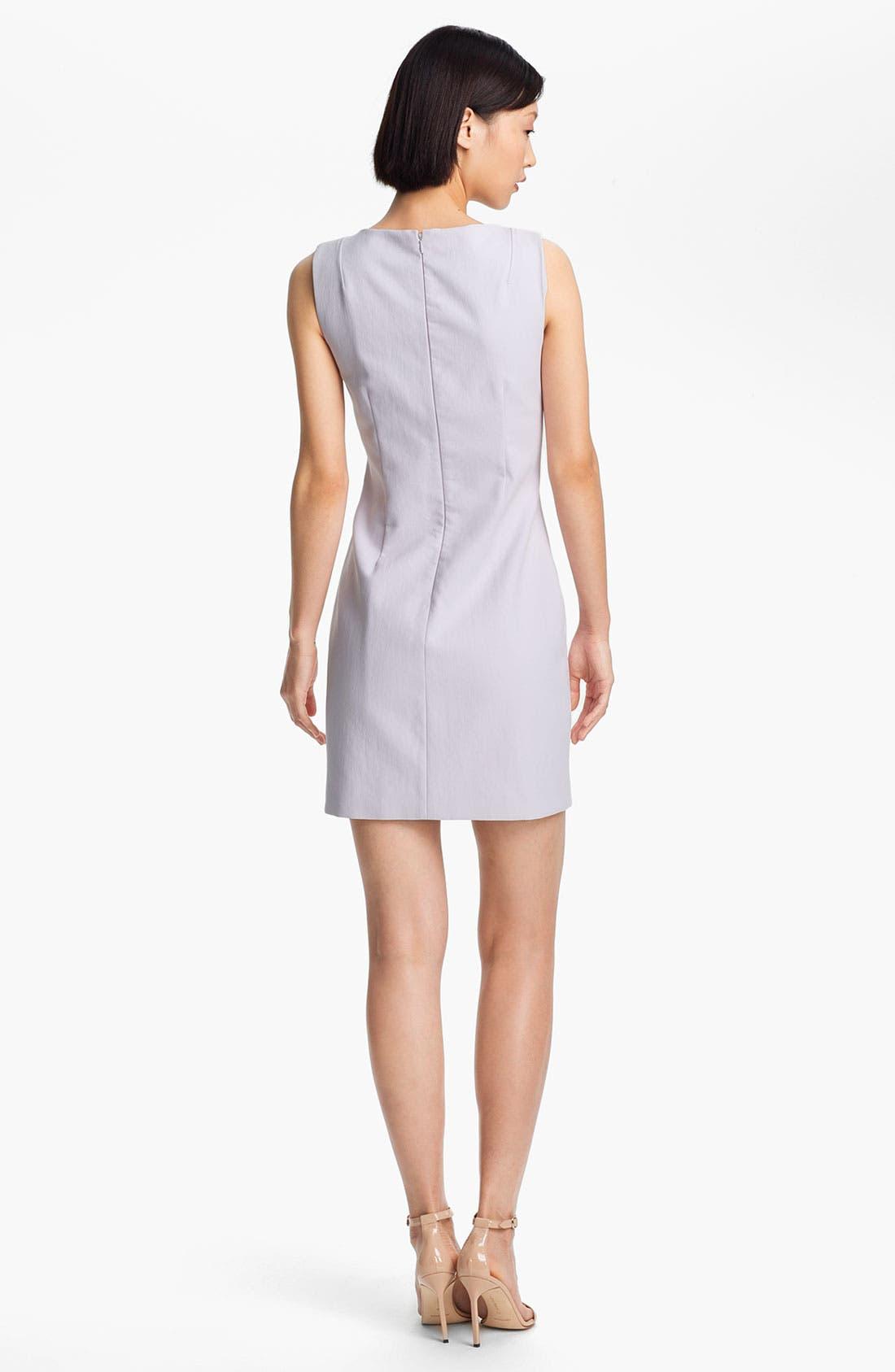 Alternate Image 2  - Halston Heritage Double Piqué Sheath Dress