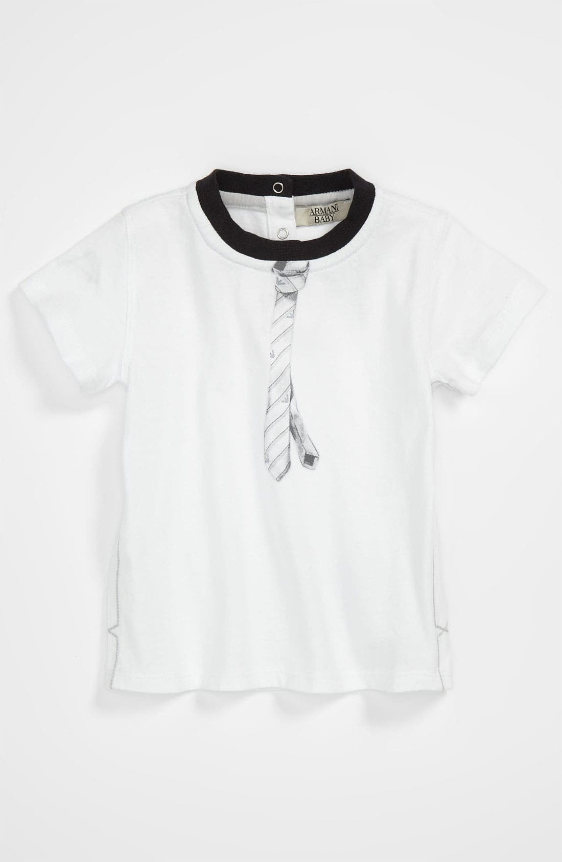 Alternate Image 1 Selected - Armani Junior Graphic T-Shirt (Infant)
