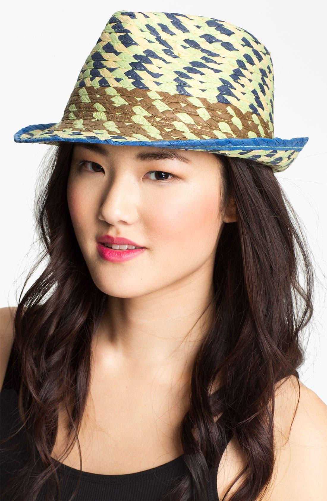 Alternate Image 1 Selected - Jessica Simpson Fedora