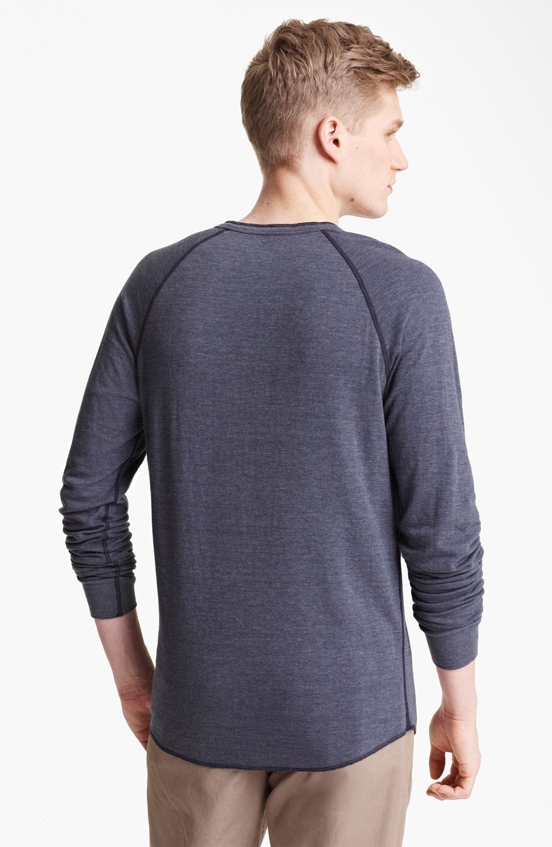Alternate Image 2  - Save Khaki Knit Henley
