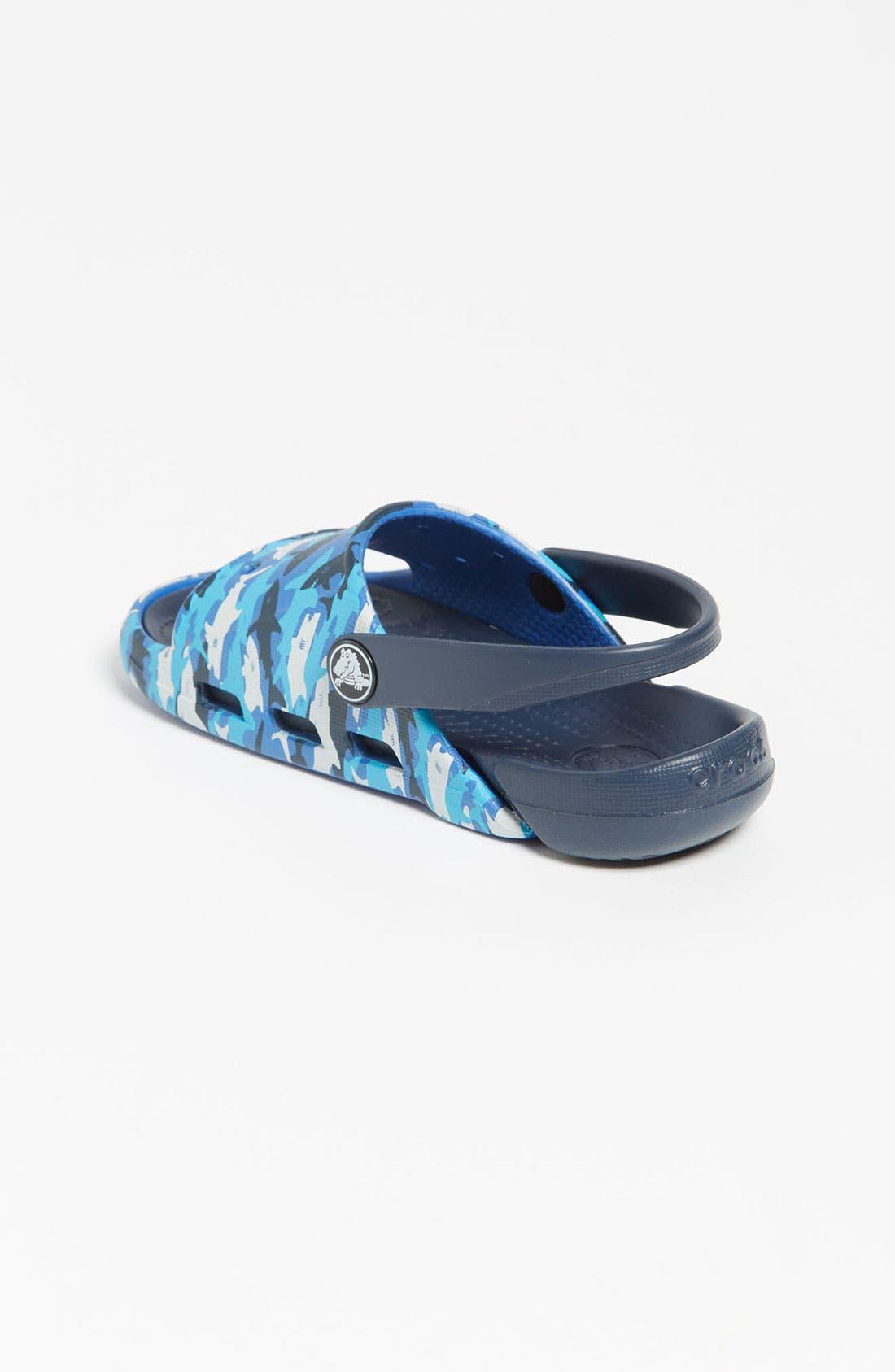 Alternate Image 2  - CROCS™ 'Electro' Sandal (Walker, Toddler & Little Kid)