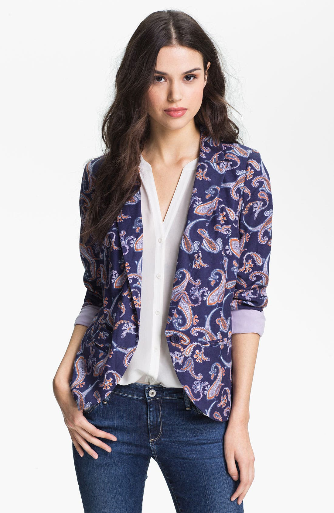 Alternate Image 1 Selected - Hinge® Print Blazer
