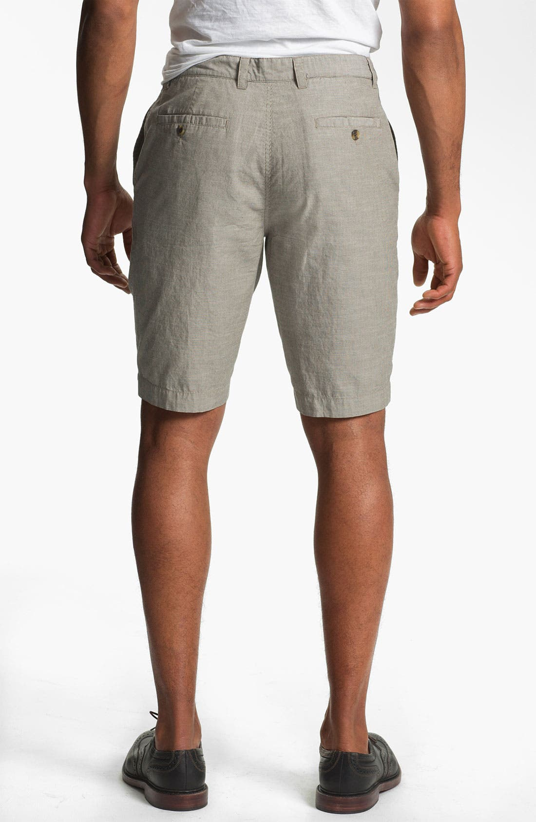 Alternate Image 2  - Wallin & Bros. 'Lanspur' Flat Front Shorts