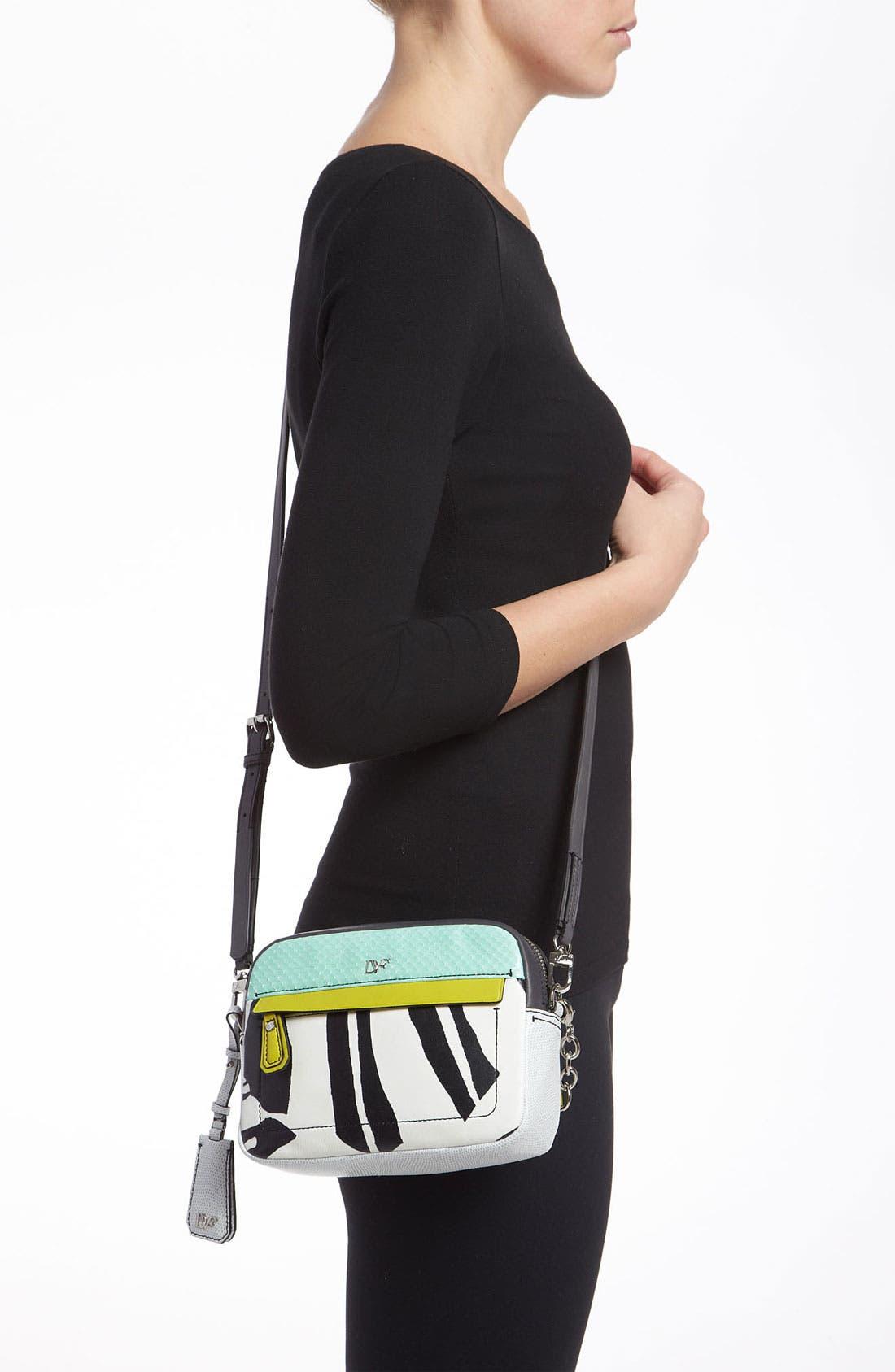 Alternate Image 2  - Diane von Furstenberg 'Milo - Mini' Printed Leather Crossbody Bag