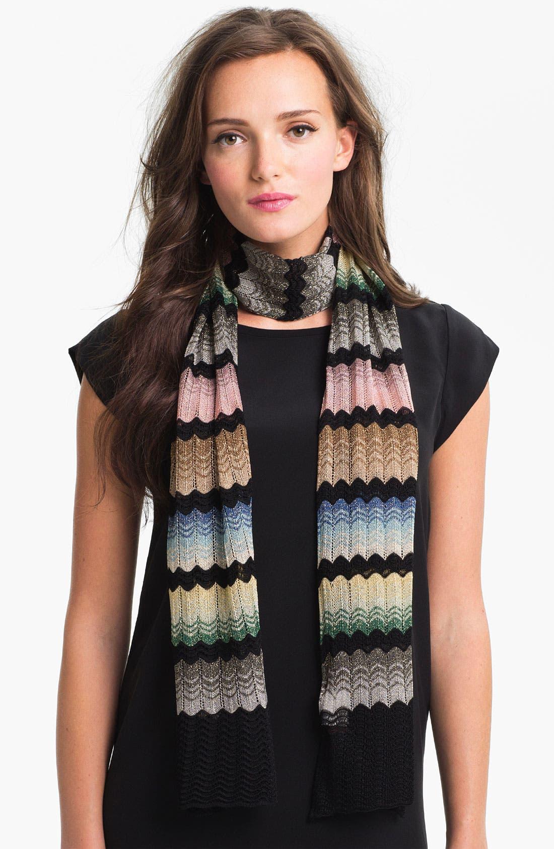 Main Image - Missoni Zigzag Knit Scarf