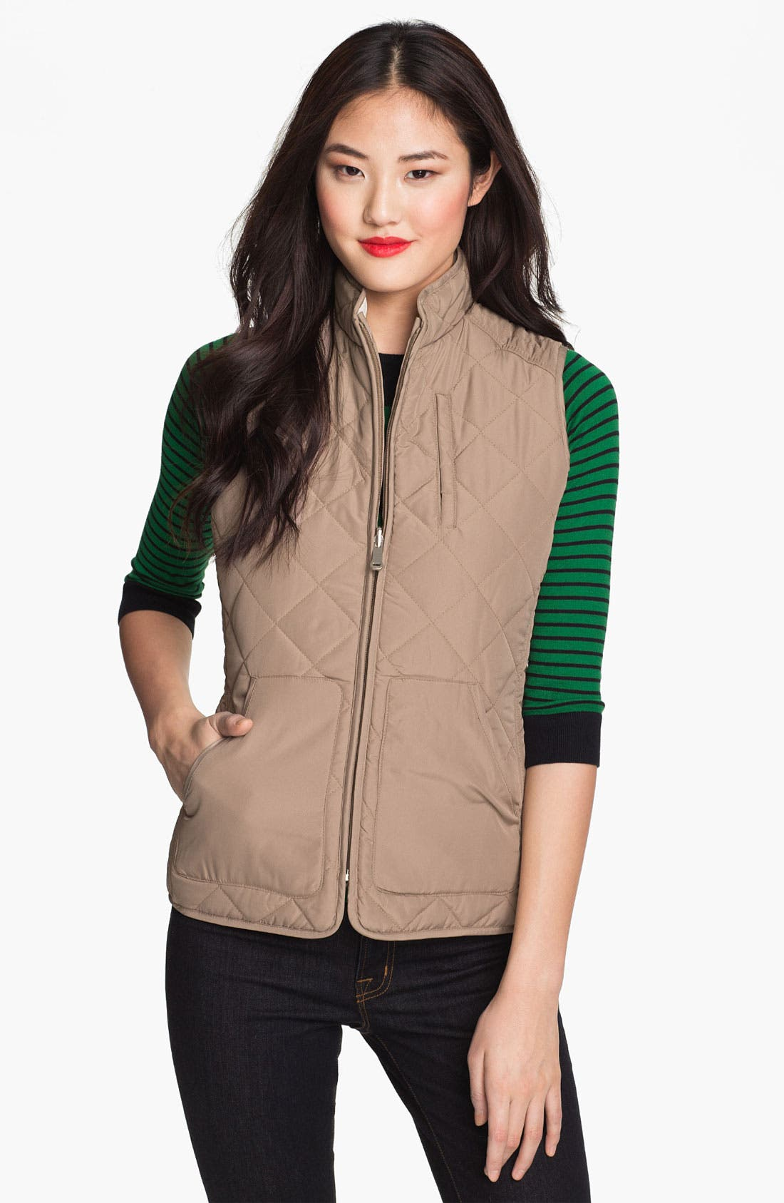 Alternate Image 2  - Weatherproof® Reversible Quilted Vest (Online Only)