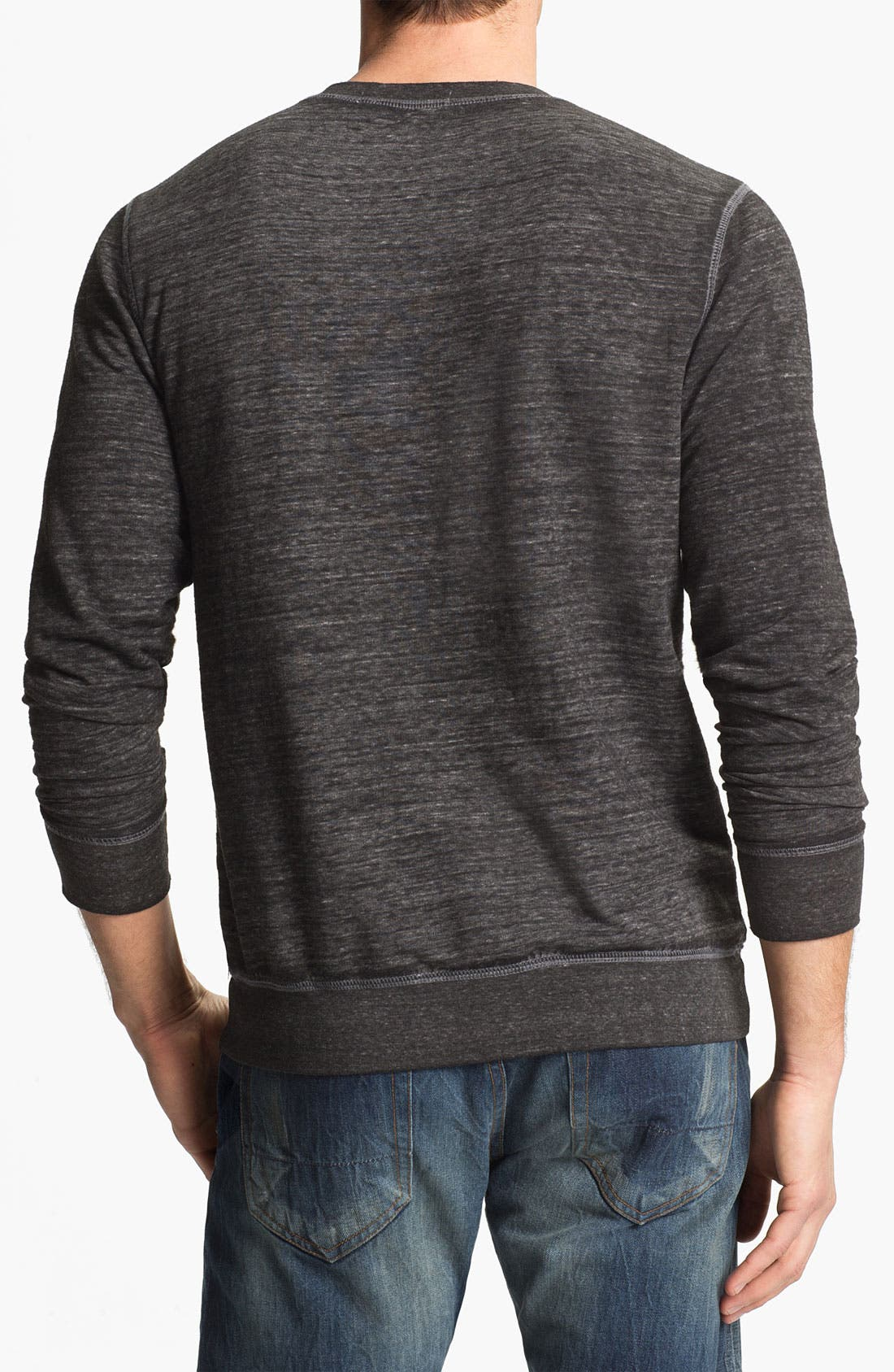 Alternate Image 2  - Threads for Thought Burnout Crewneck Sweatshirt