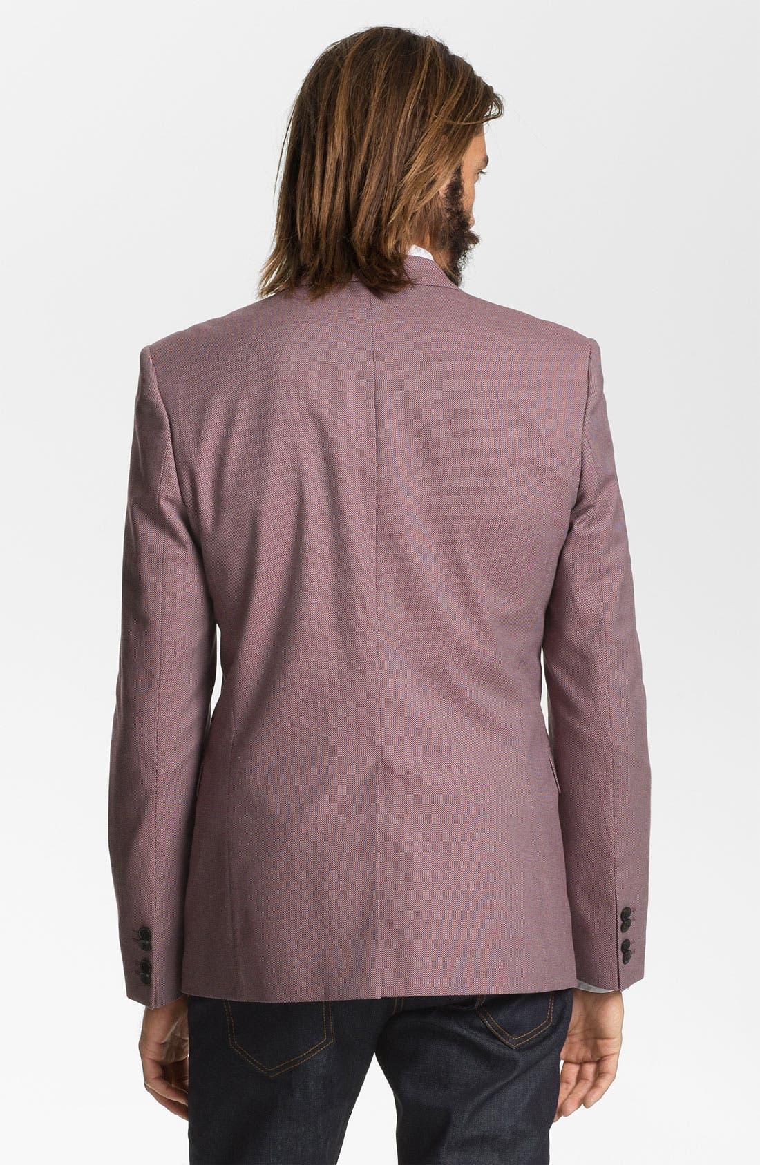 Alternate Image 2  - HUGO 'Aeris' Trim Fit Bird's Eye Sportcoat