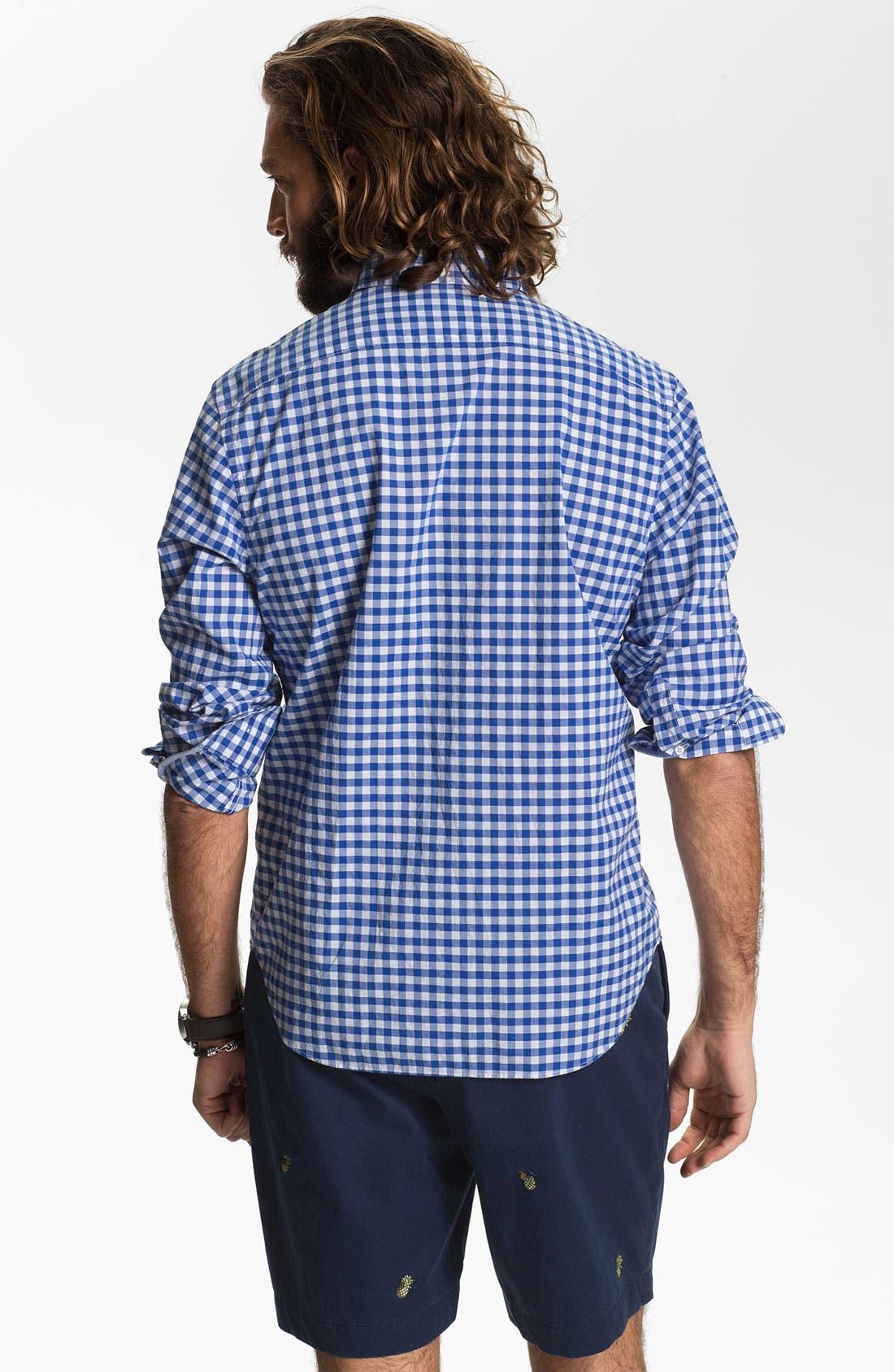 Alternate Image 2  - Bonobos Gingham Standard Fit Sport Shirt