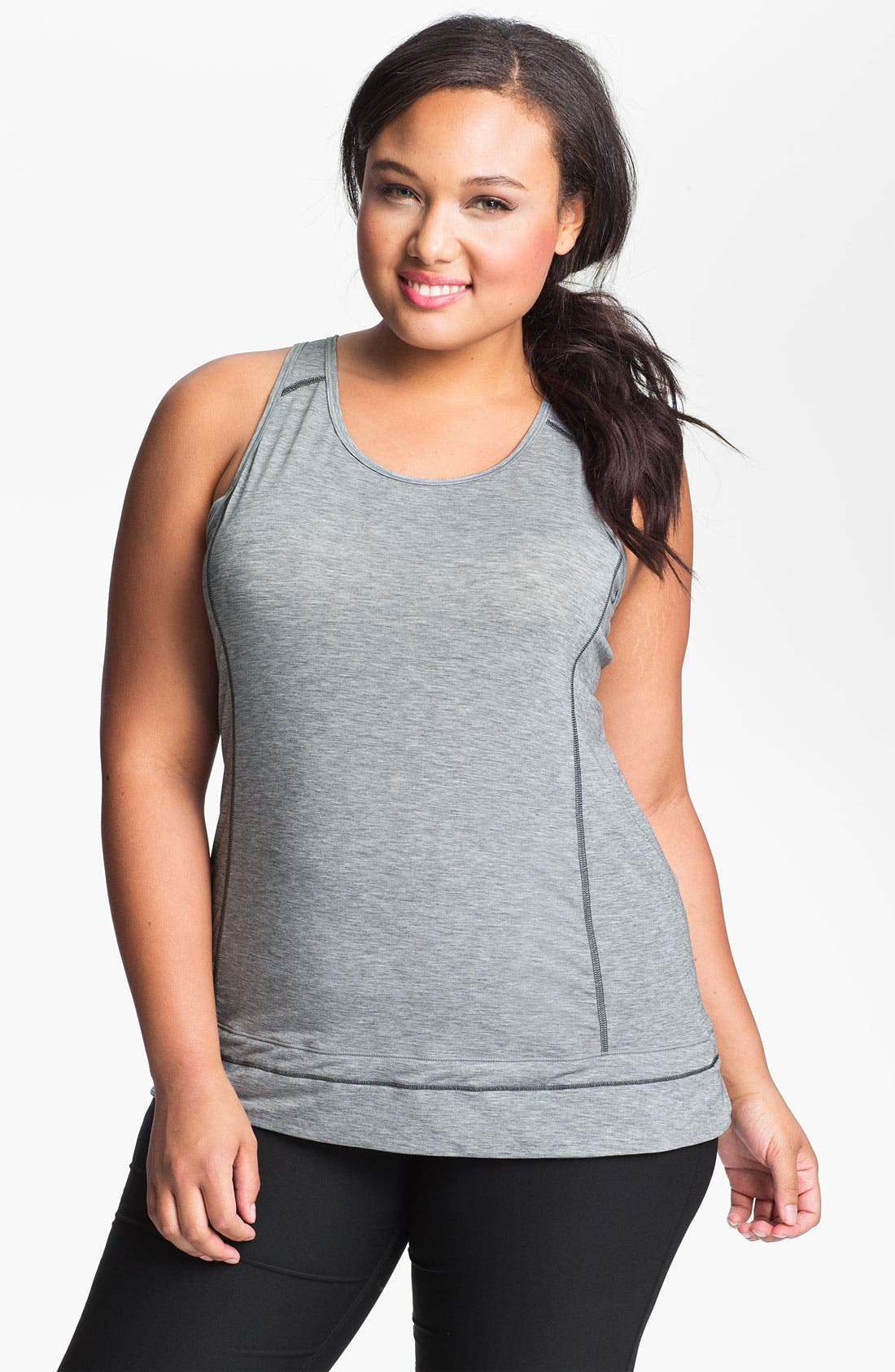Alternate Image 1 Selected - Moving Comfort 'Endurance' Tank (Plus Size)