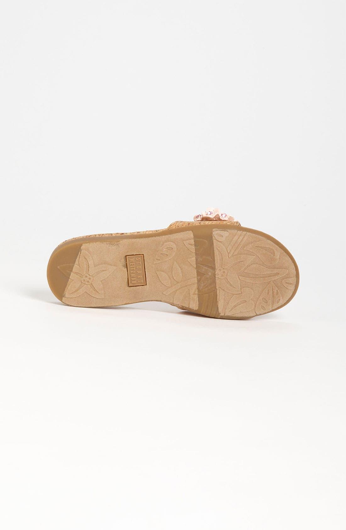 Alternate Image 4  - Stuart Weitzman 'Hyacinth' Sandal (Little Kid & Big Kid)
