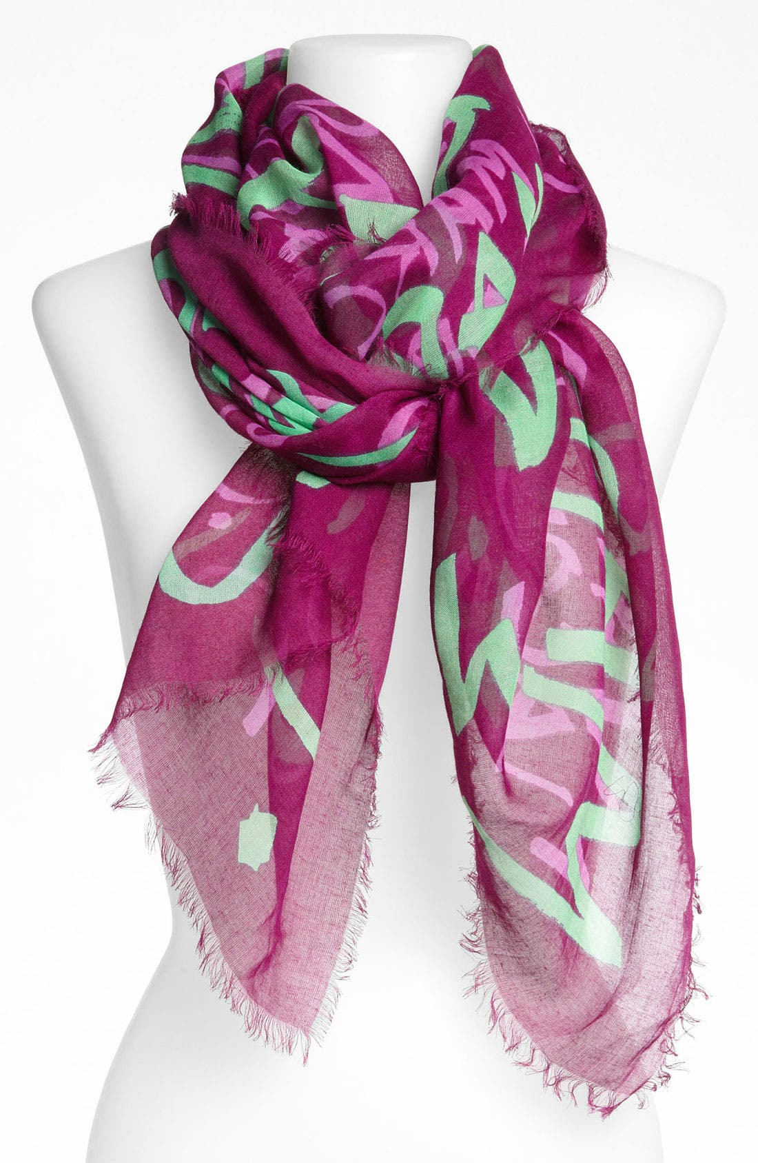 Alternate Image 1 Selected - MARC BY MARC JACOBS 'MBMJ' Print Scarf