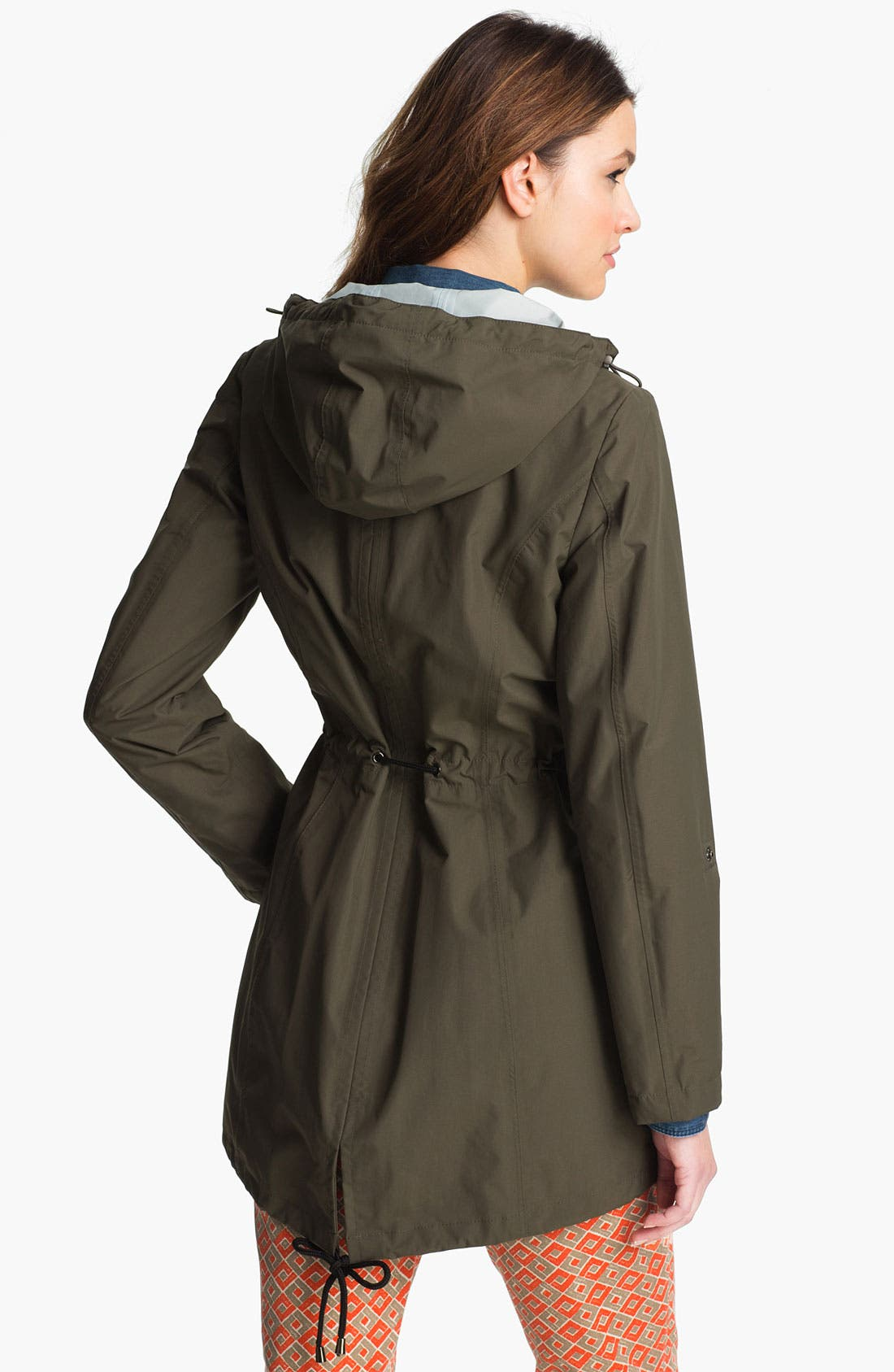Alternate Image 2  - Laundry by Shelli Segal Packable Water Repellent Anorak
