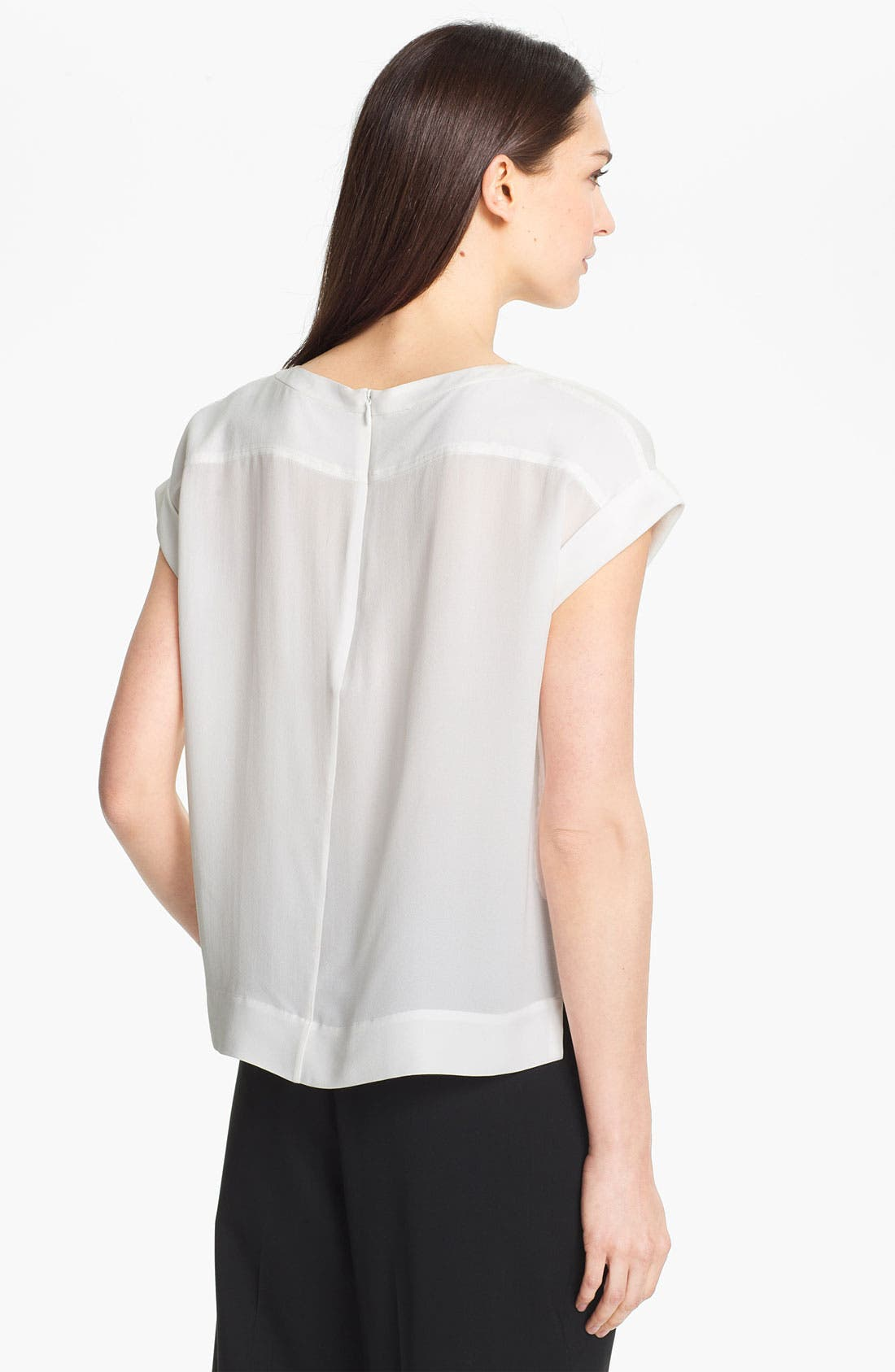Alternate Image 2  - Theory 'Sorcha' Silk Top