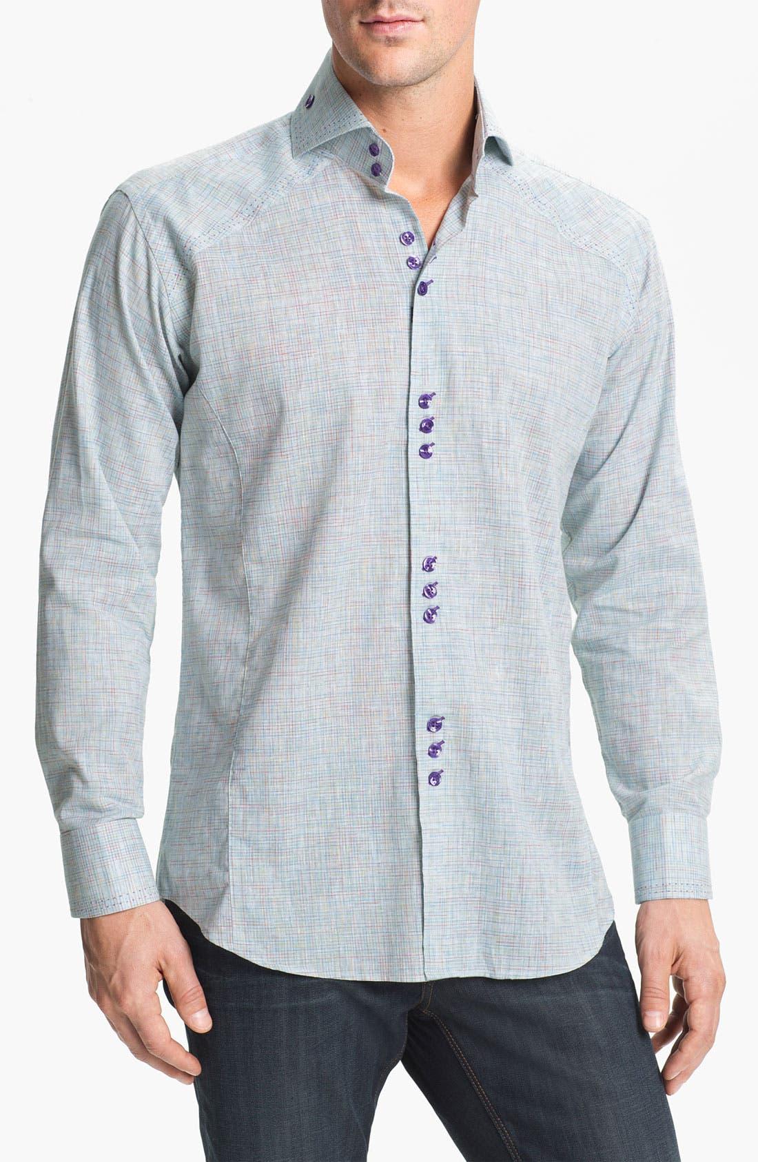 Alternate Image 1 Selected - Bogosse 'Matis 93' Trim Fit Sport Shirt