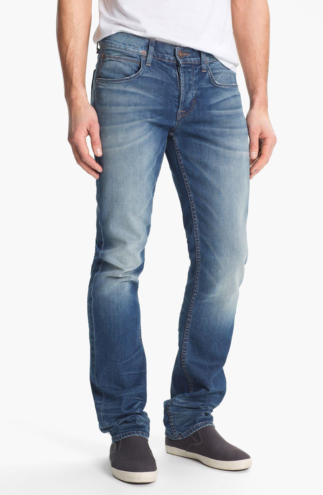 Alternate Image 1 Selected - Hudson Jeans 'Byron' Straight Leg Jeans (Seether)