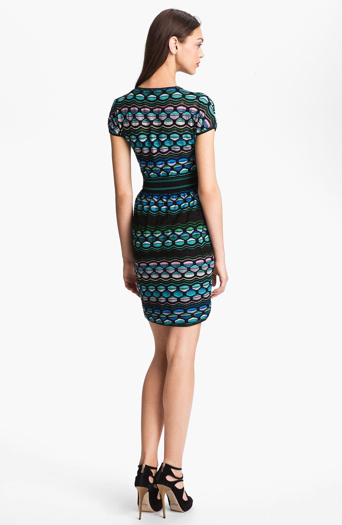 Alternate Image 2  - M Missoni Pucker Wave Dress