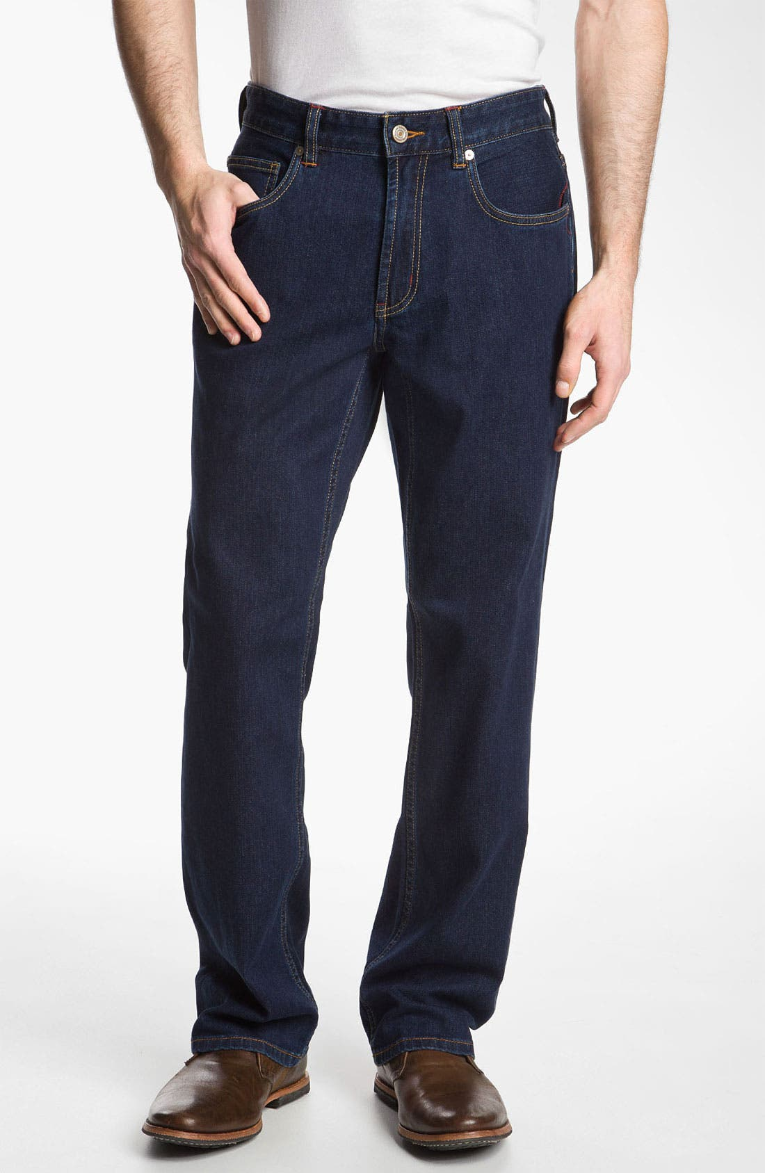 Main Image - Tommy Bahama Denim 'Original Cooper' Jeans (New Rinse)