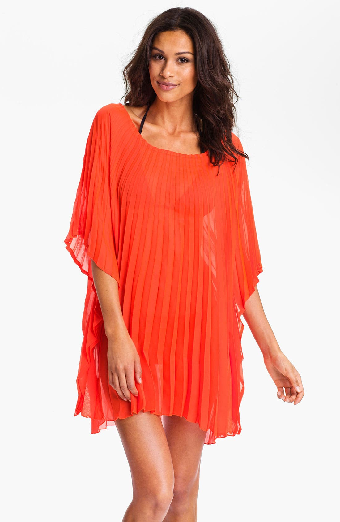 Alternate Image 1 Selected - Steve Madden Pleated Cover-Up